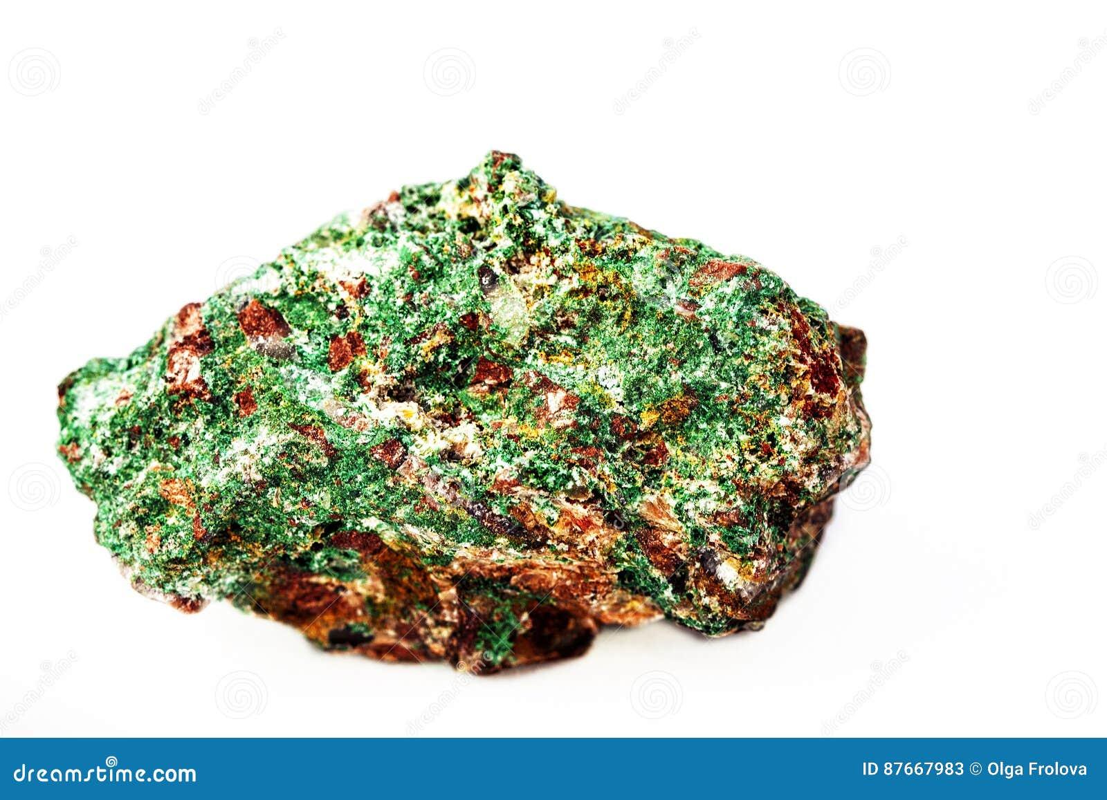 Malachite dans la roche