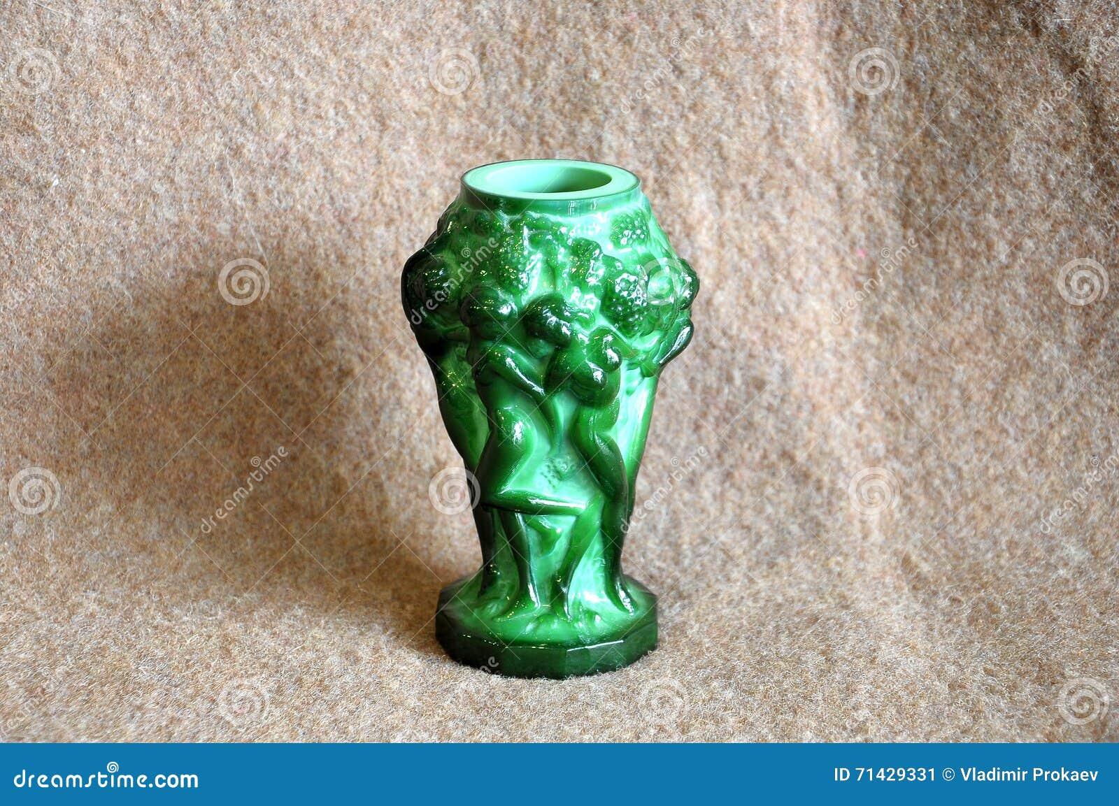 Malachite de vase