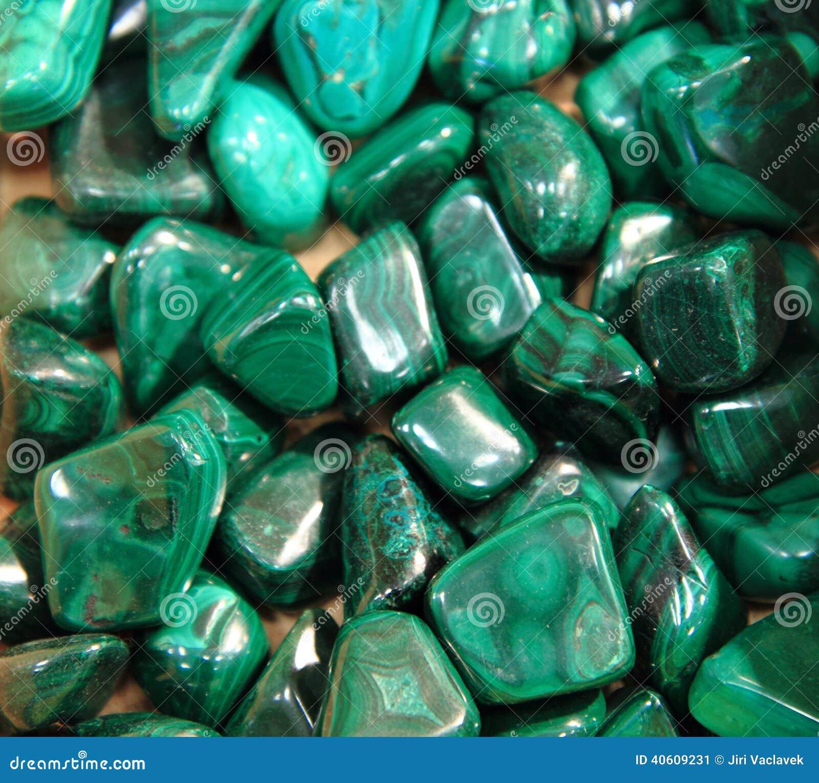 Green malachite...