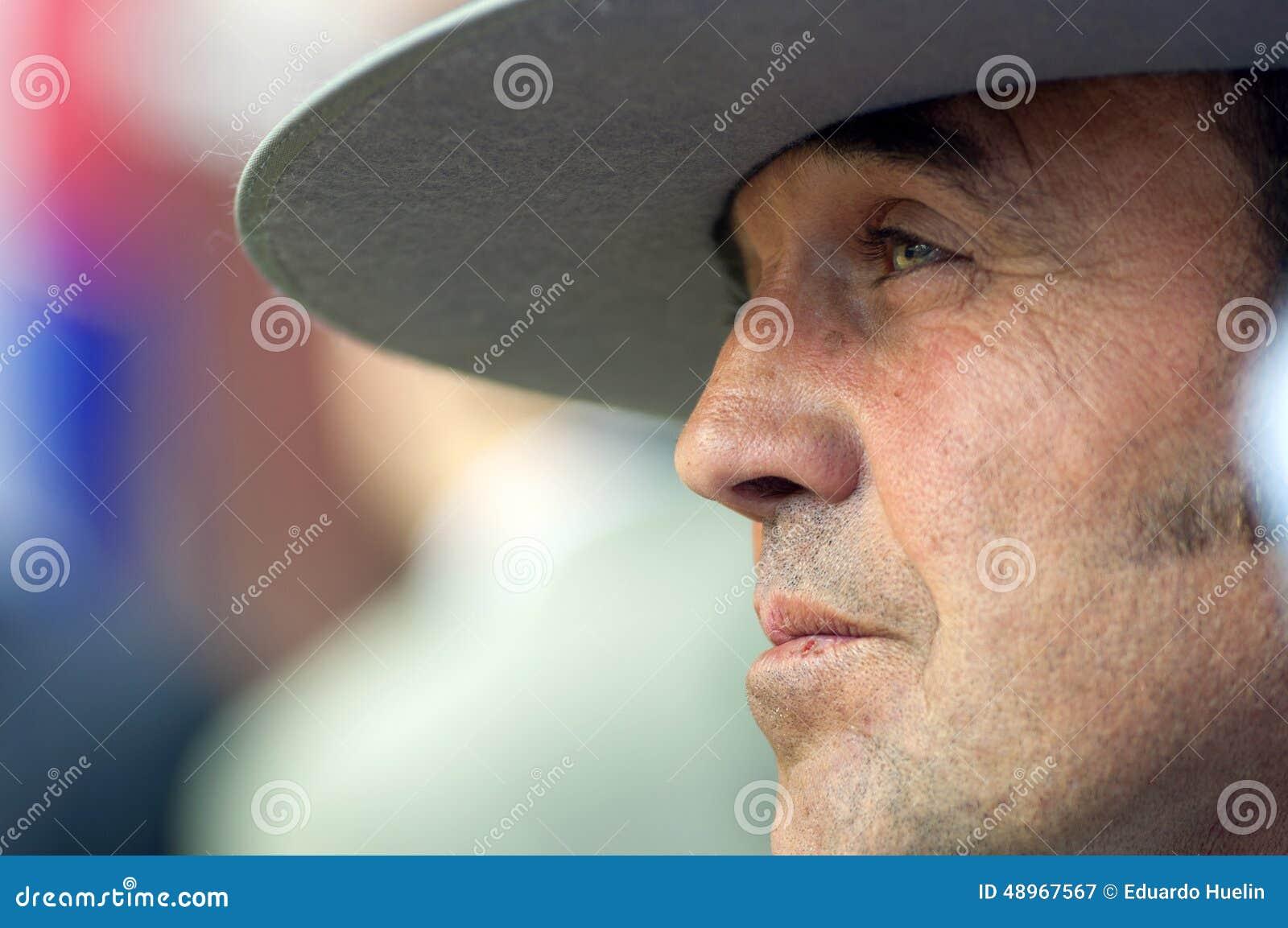 goditi un grande sconto nuova stagione boutique outlet MALAGA, SPAGNA - AUGUSTA, 14: Un Uomo Con Il Cappello Tipico ...