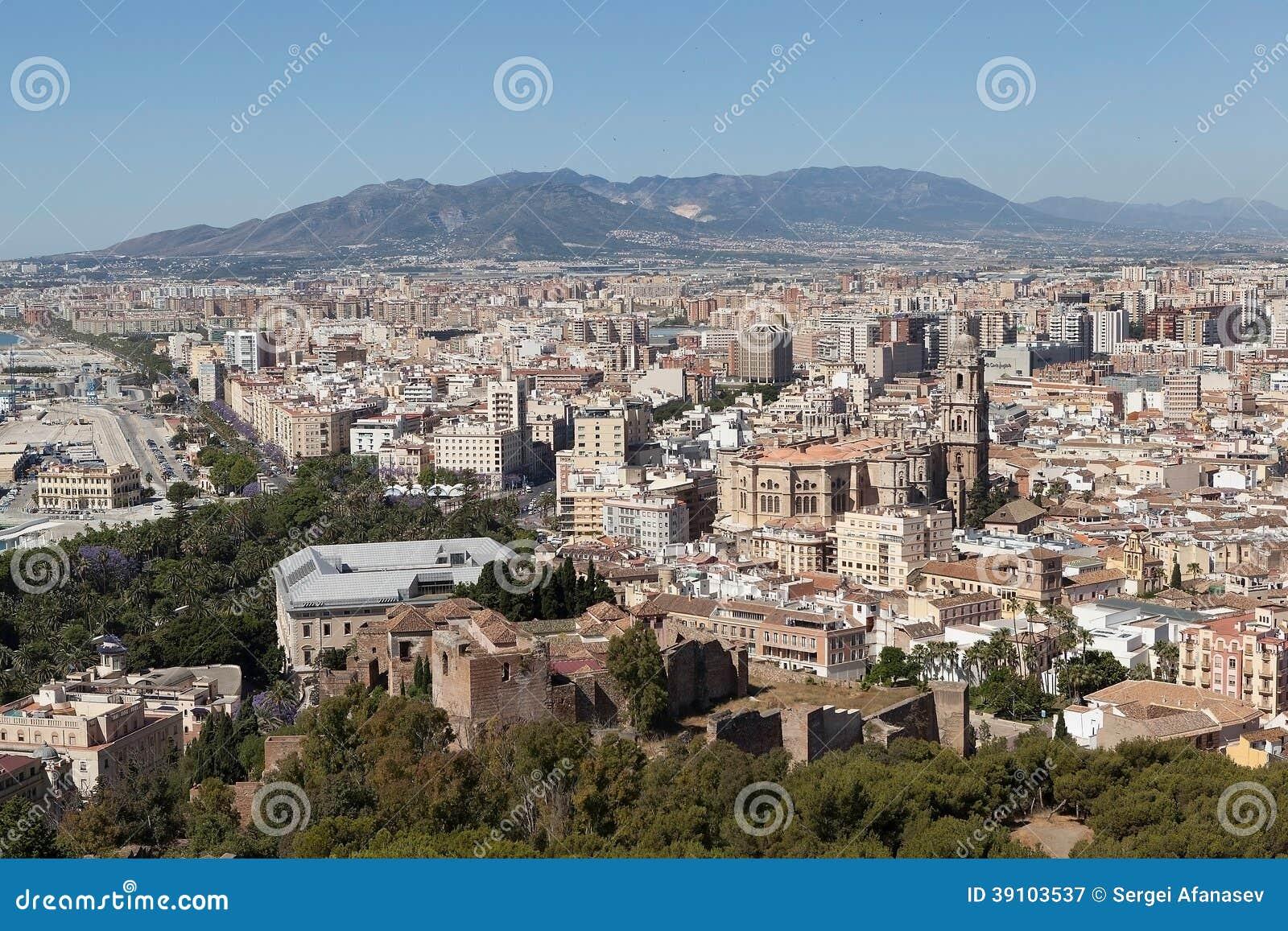Malaga. Spanje