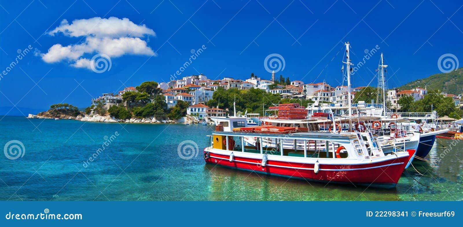 Malarskie greckie wyspy