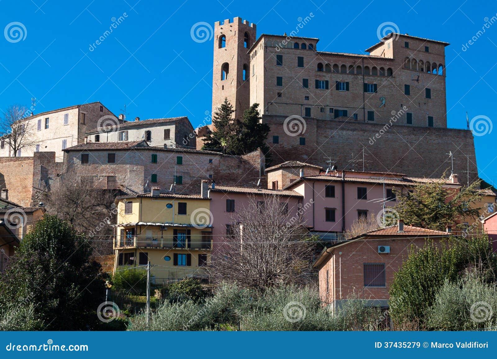 Malatesta castle in longiano