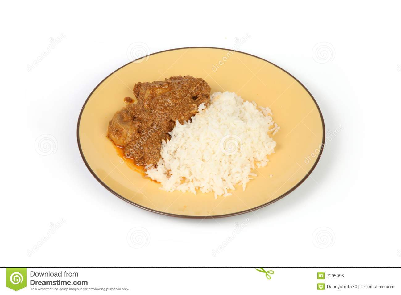 Malay chicken curry royalty free stock image image 7295996 for Plante curry