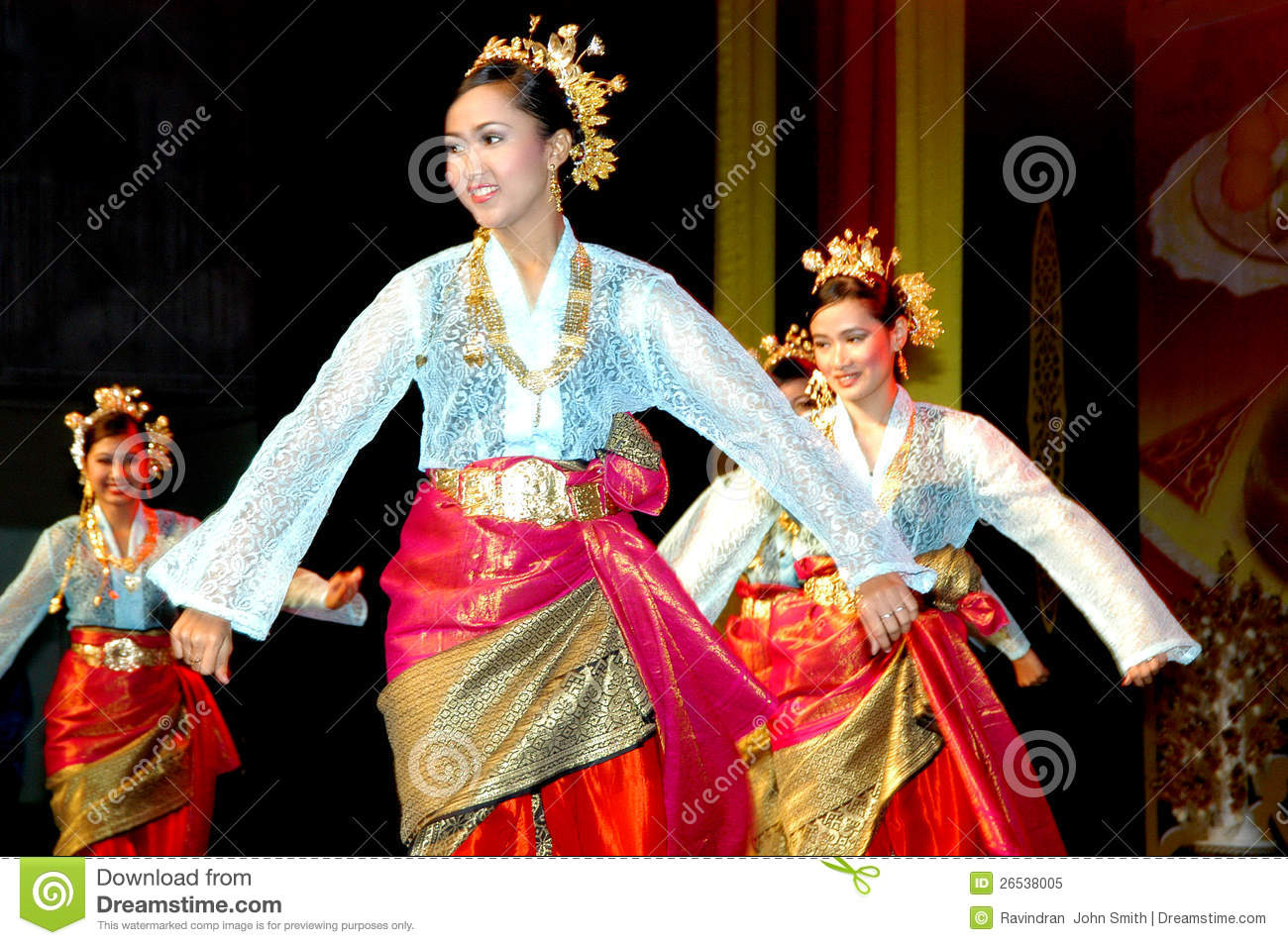 Malay Traditional Dance editorial image. Image of asia ...