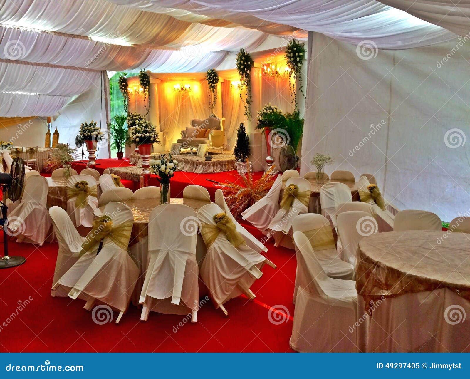 Malay Wedding Decor In Singapore Editorial Image Image Of