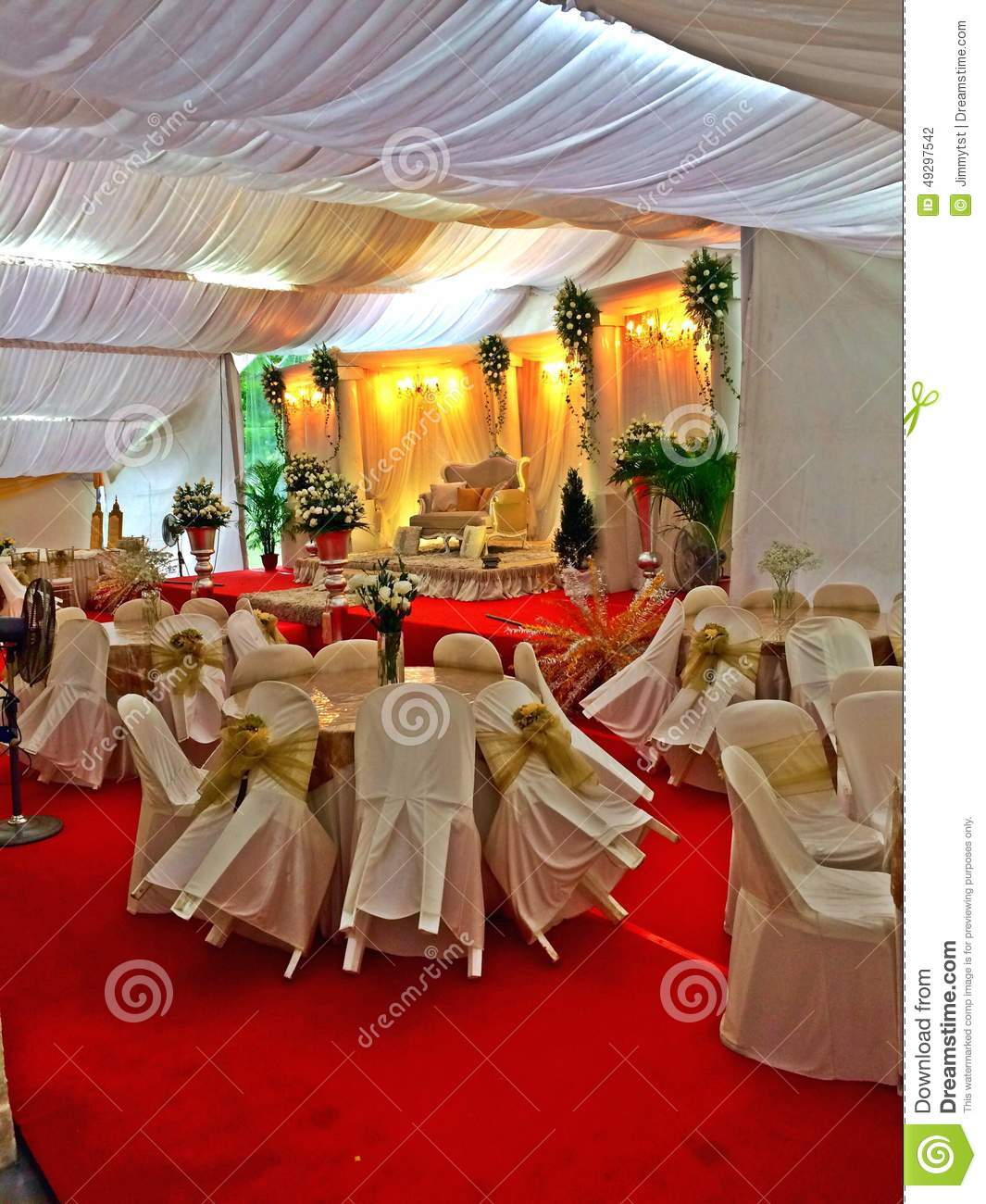 Malay Wedding Decor In Singapore Editorial Photography Image Of