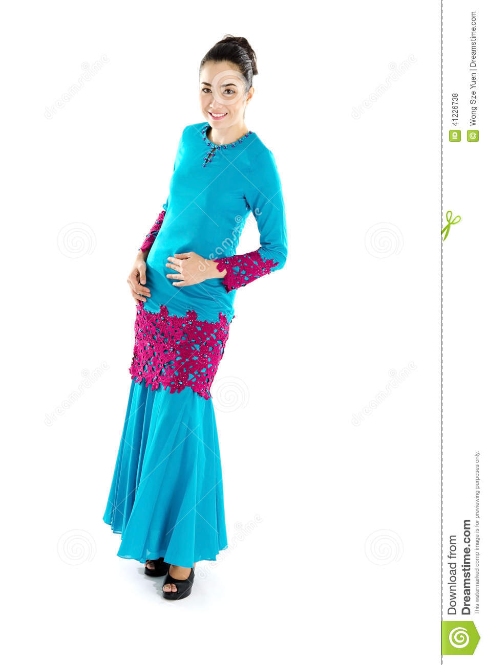 Malay traditional dress teen 8
