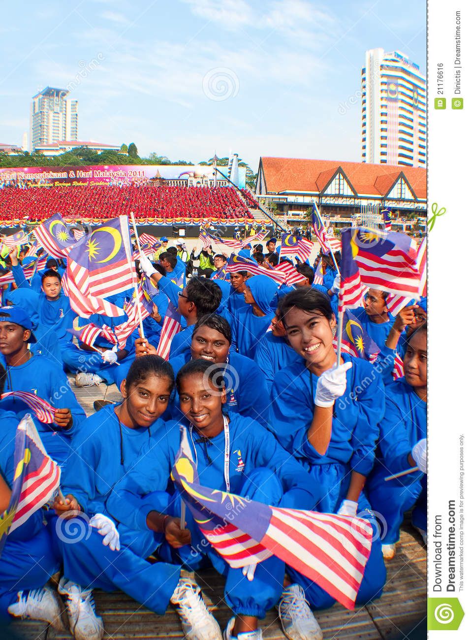 Malaysia 54th Independence Day Celebrations 2011