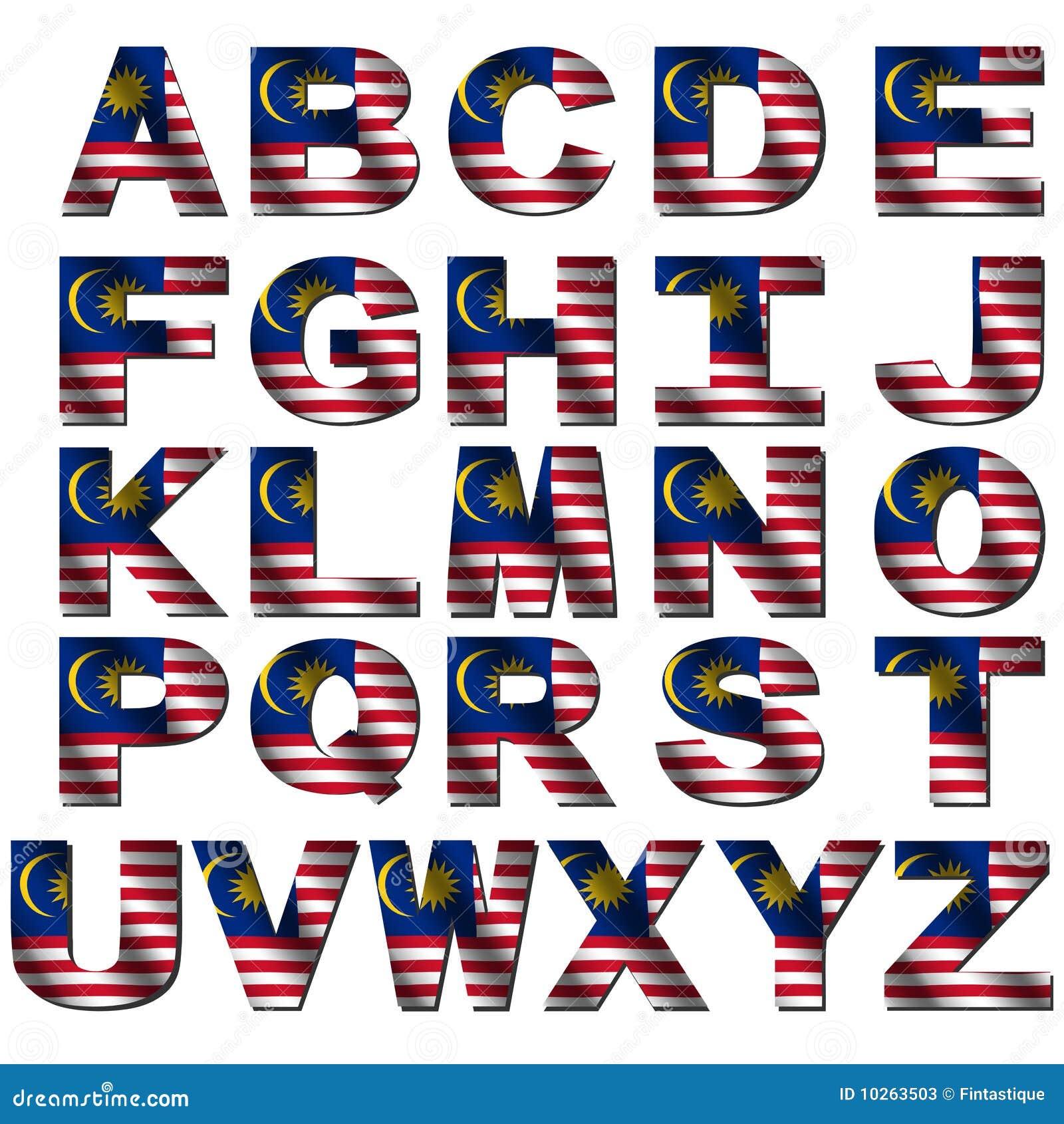 malaysian alphabet a z - photo #23