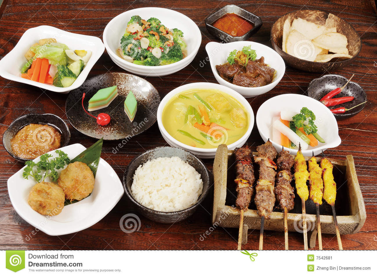 Malaysia Food Stock Image Image Of Health Delight