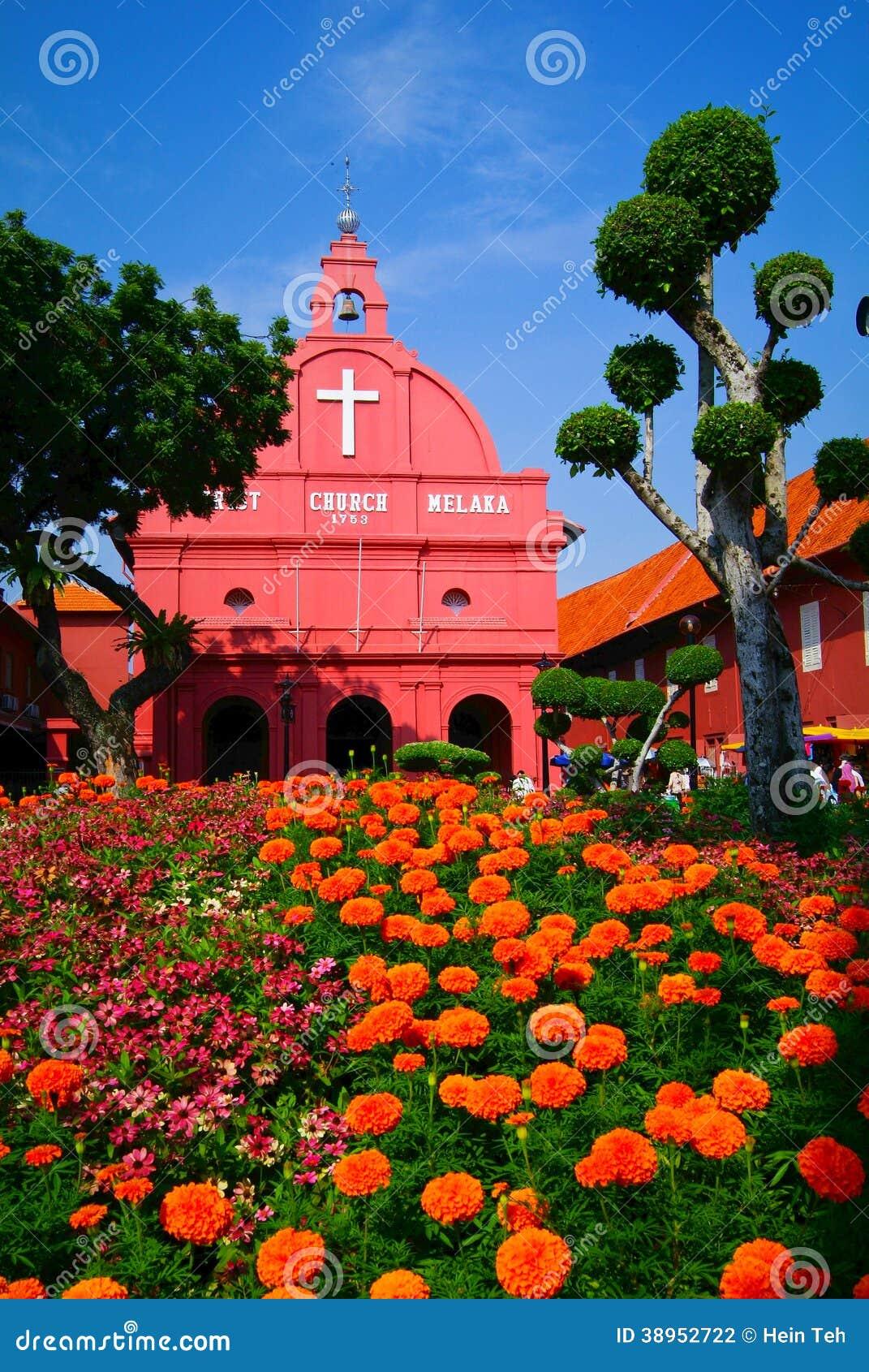 Malaysia LE MALACCA - Une vue d église du Christ et de place néerlandaise sur 7