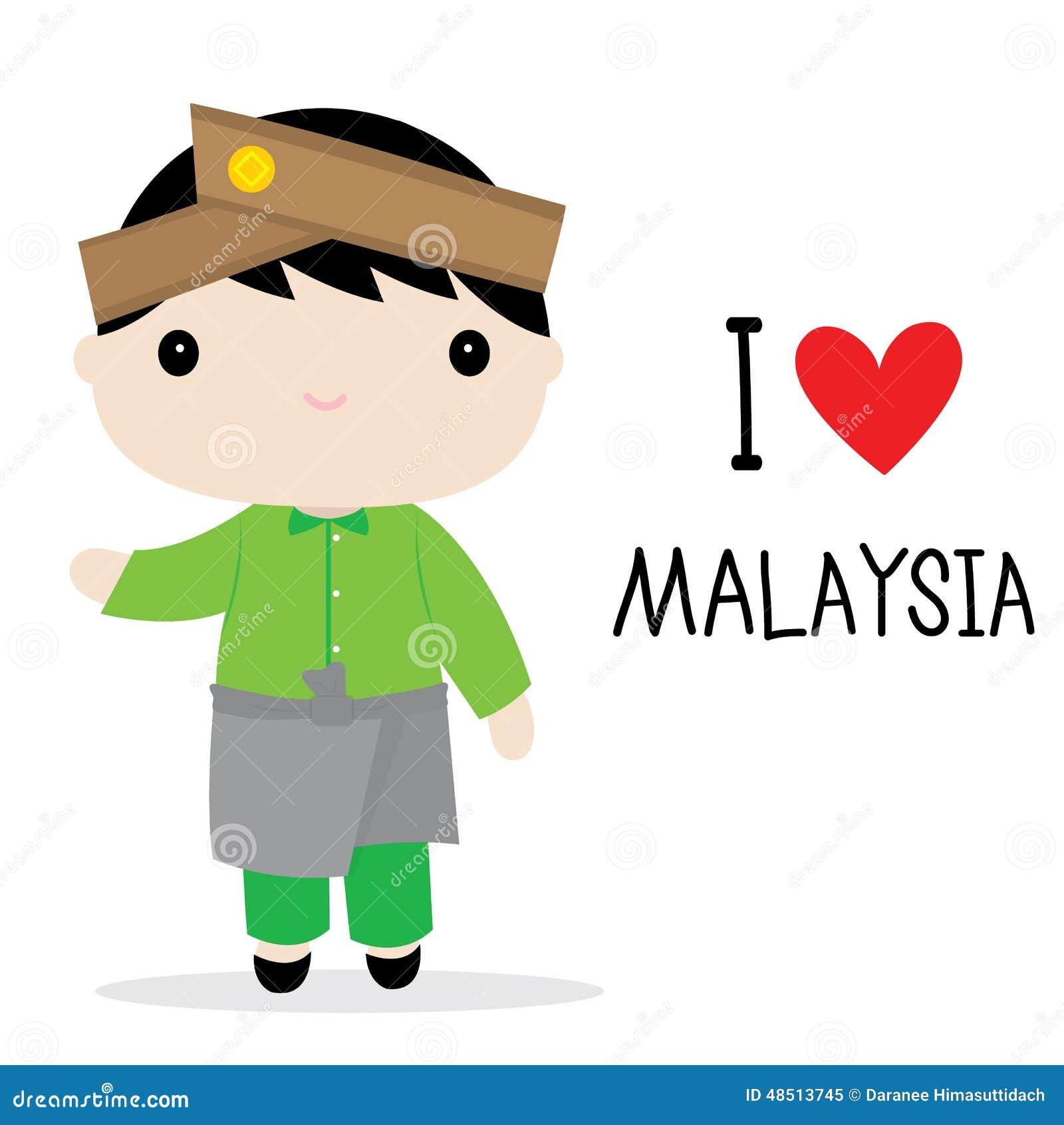 Malaysian People Clipart Malaysia Men National ...