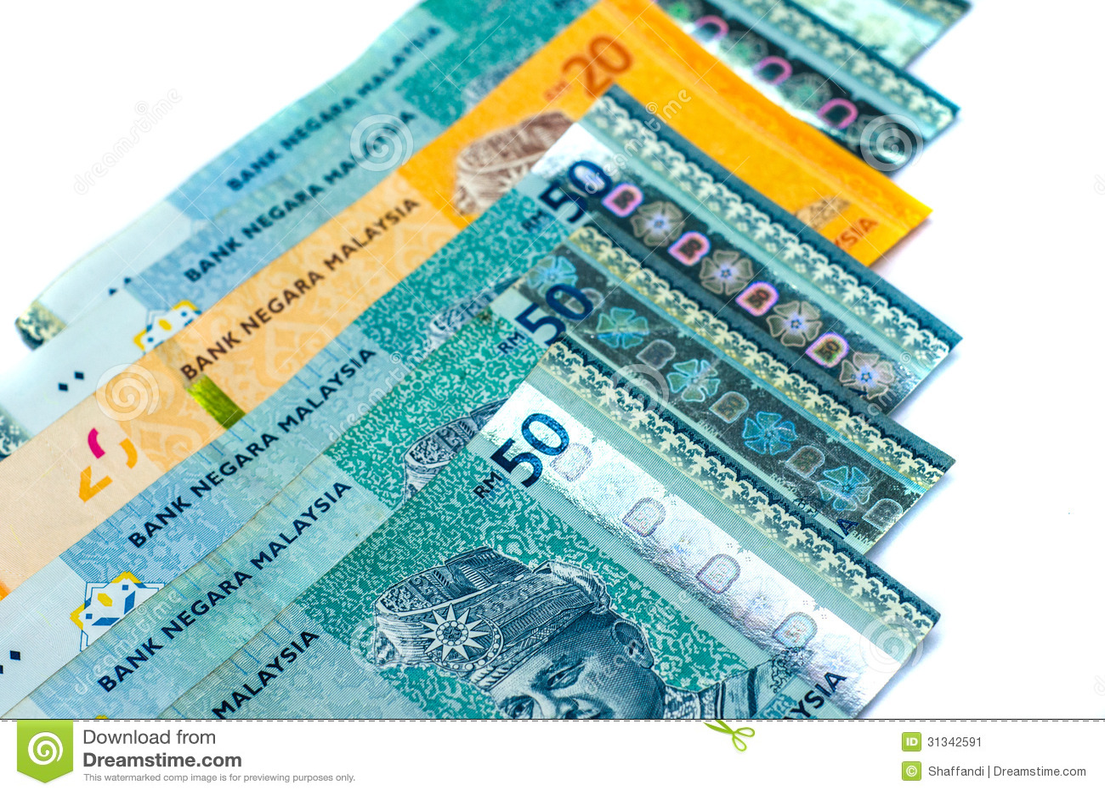 Malaysia Ringgit Stock Image - Image: 31342591