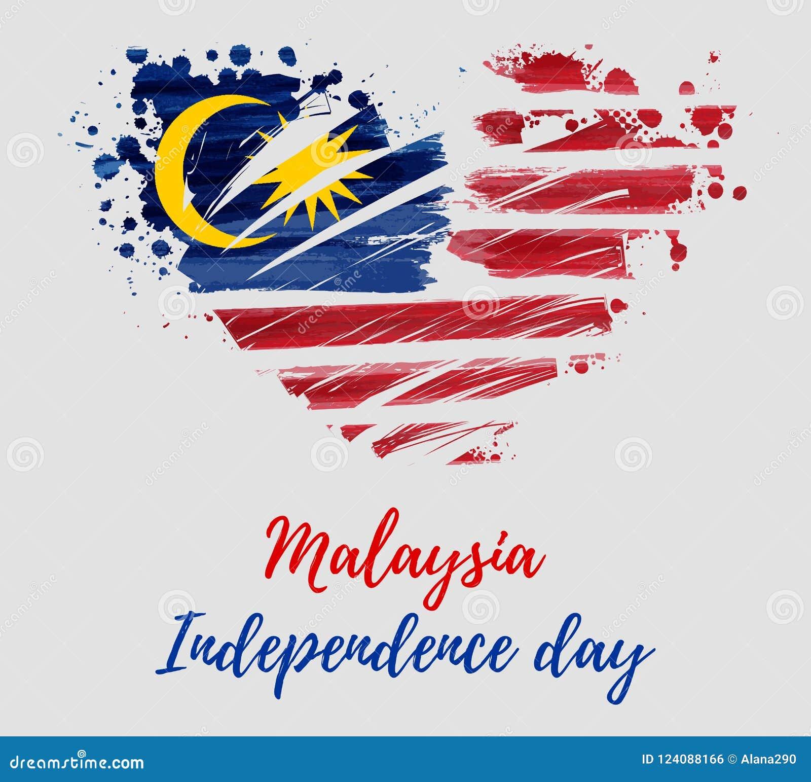 Malaysia-Unabhängigkeitstag - Hari Merdeka-Feiertag