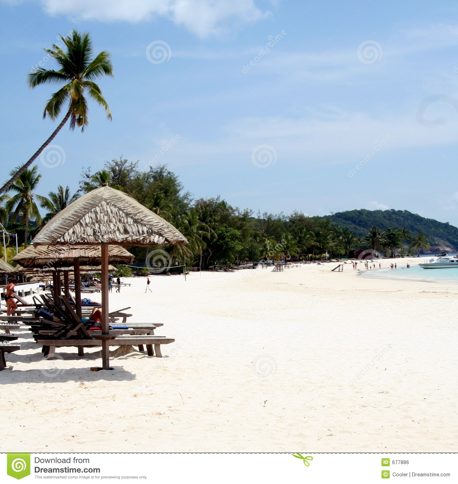 Malaysia Beaches: Malaysian Beach Royalty Free Stock Image