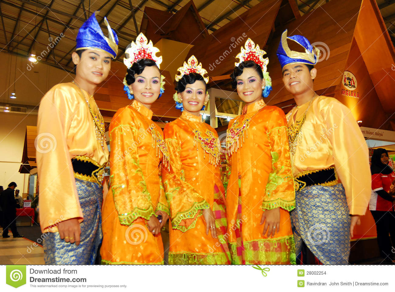 Malaysia Traditional Dress