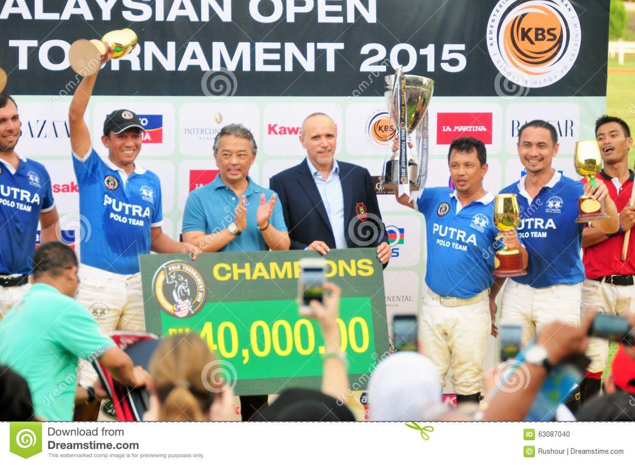 Download Malaysian Polo Tournament Ouvert 2015 Image éditorial - Image du malaysia, luxe: 63087040