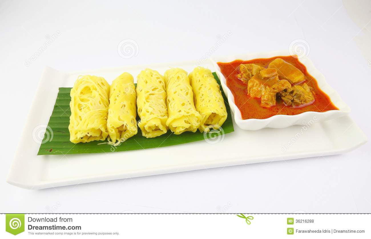 malaysian chicken curry roti jala and malaysian curry roti jala roti ...