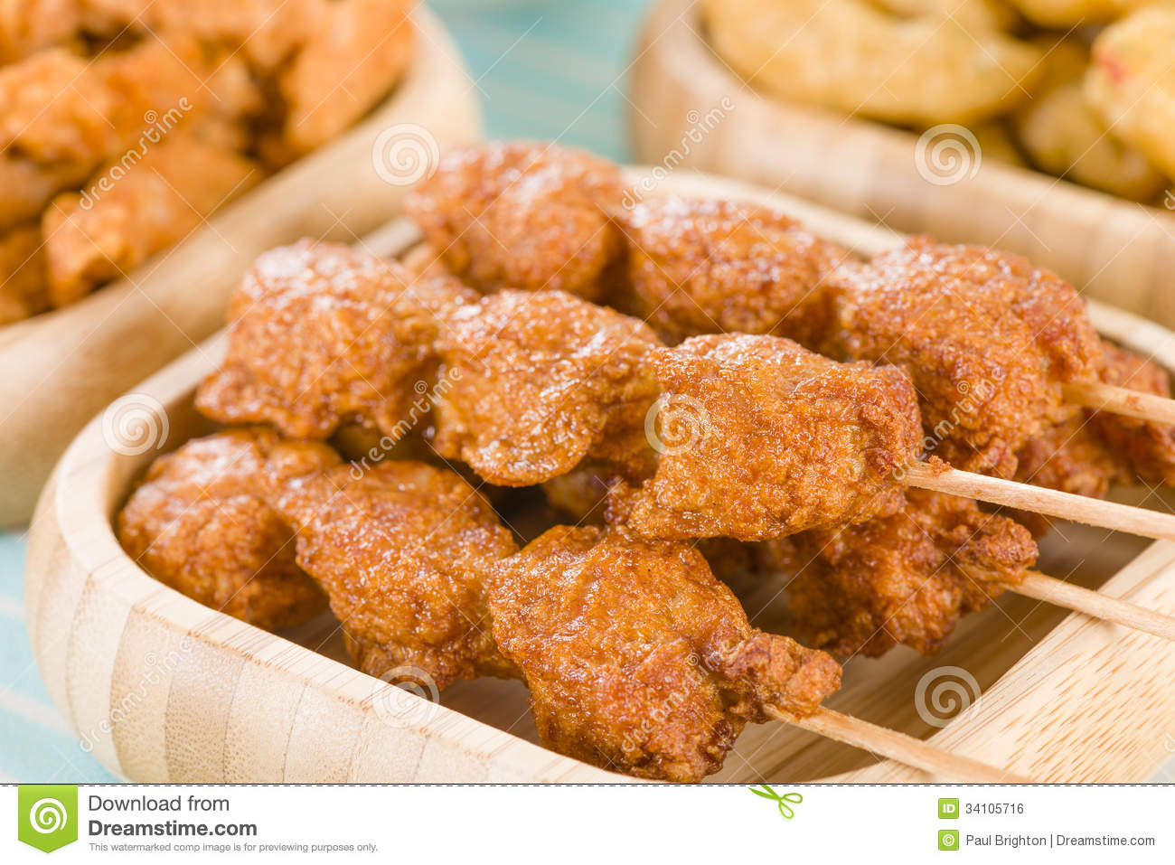 Malaysian Style Snacks Royalty Free Stock Image - Image ...