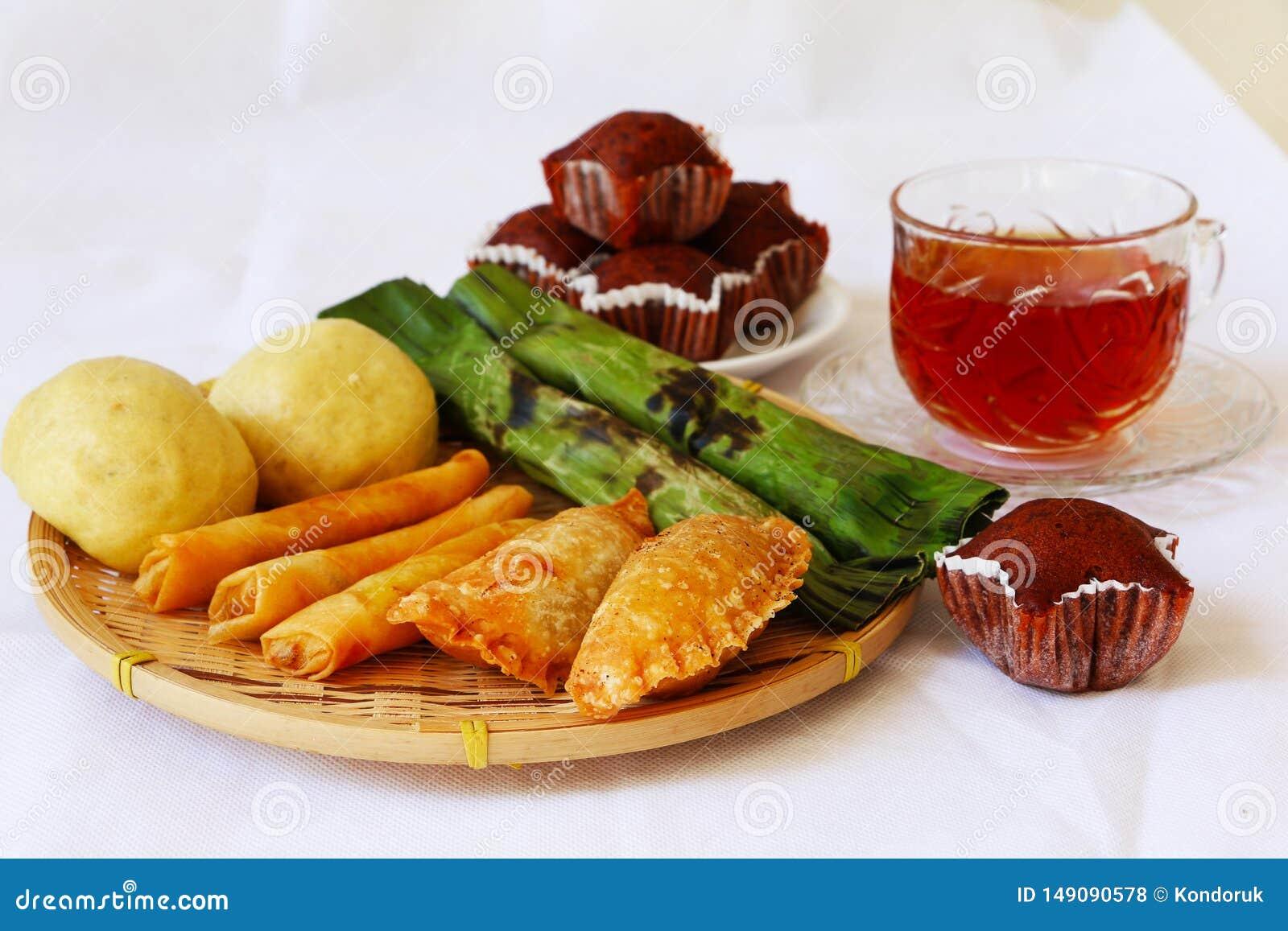 Malaysian Traditional Cakes Kuih Muih Stock Photo Image Of Served Traditional 149090578