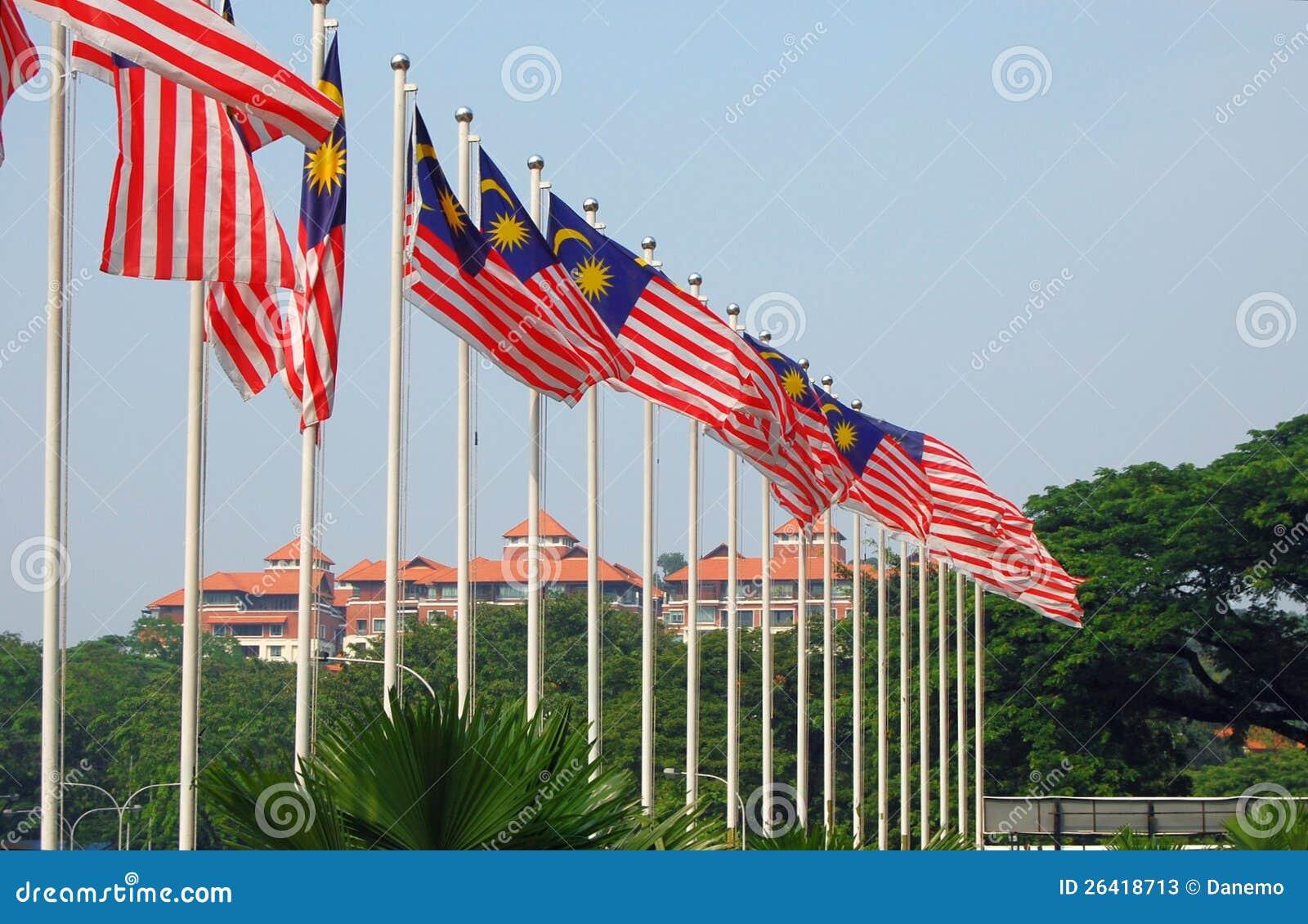 Malaysiska flaggor