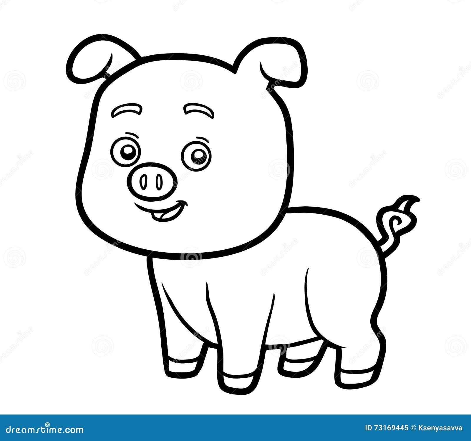 Schön Schwein Malvorlagen Für Kinder Ideen - Malvorlagen Von Tieren ...