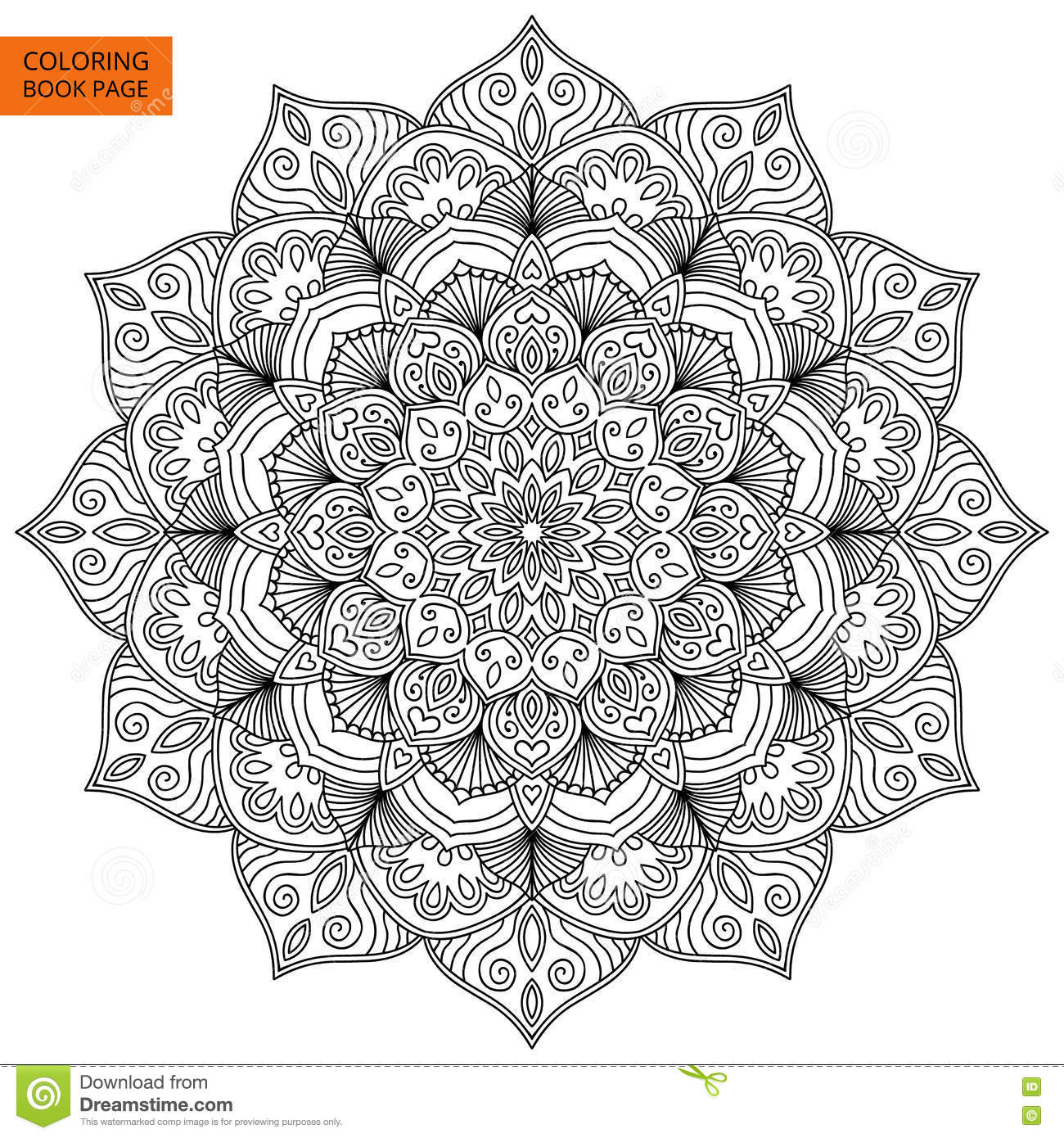 Cool Abstact Designs Coloring Pages