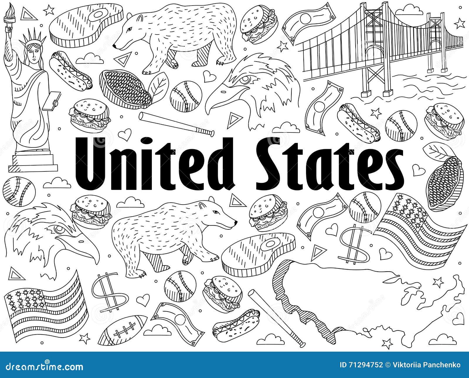 Gemütlich Malbuch Der Vereinigten Staaten Bilder - Malvorlagen Von ...