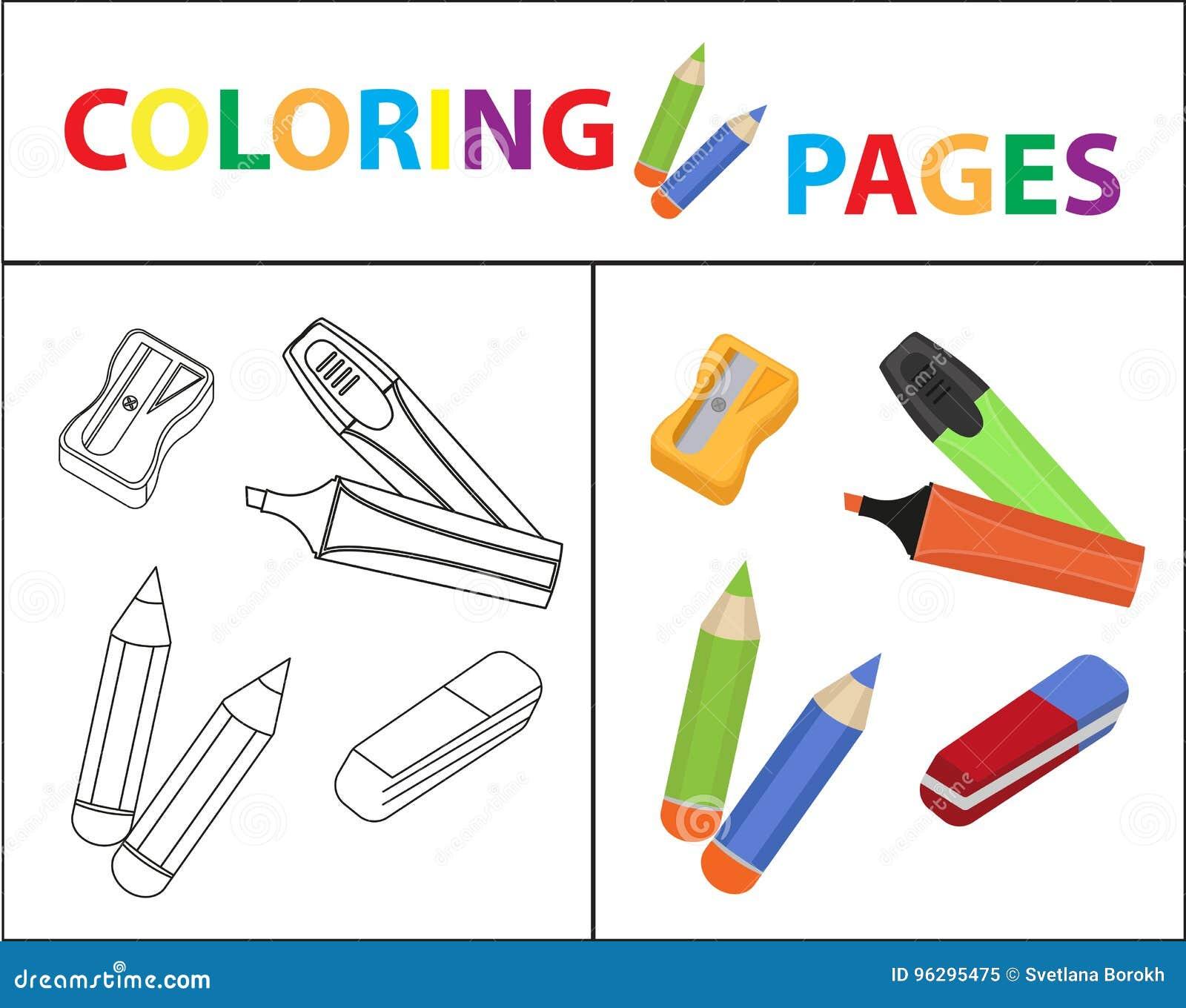 Fein Bleistiftspitzer Färbung Seite Galerie - Entry Level Resume ...