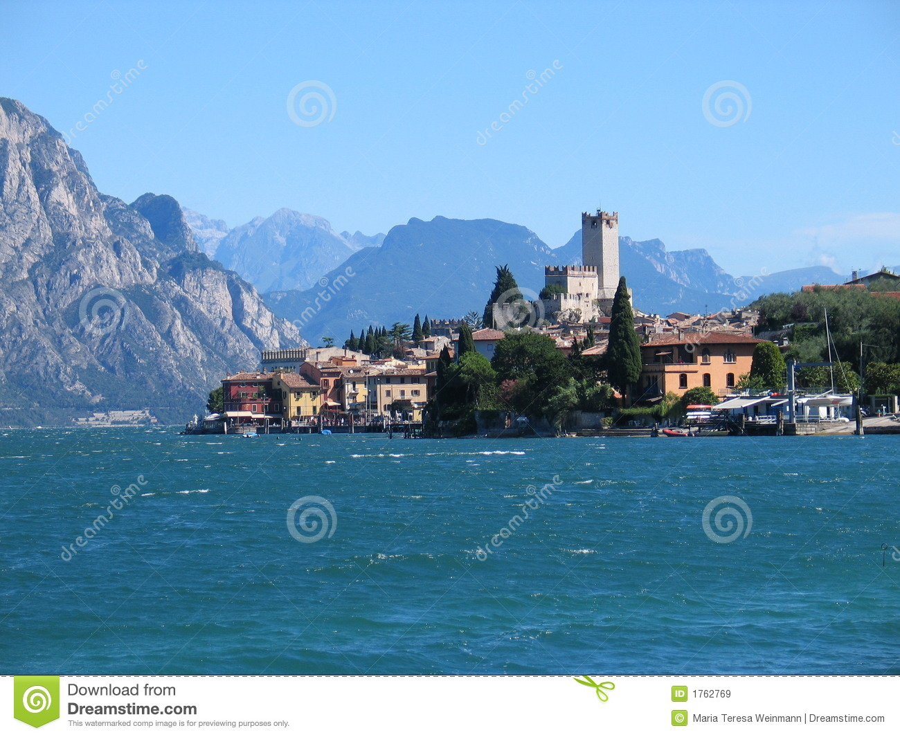 Malcesine (Italy) Royalty Free Stock Images - Image: 1762769