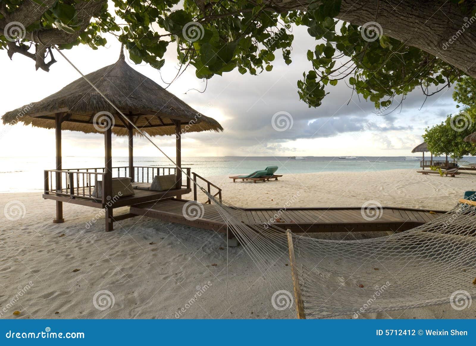 Maldives-Meerblick