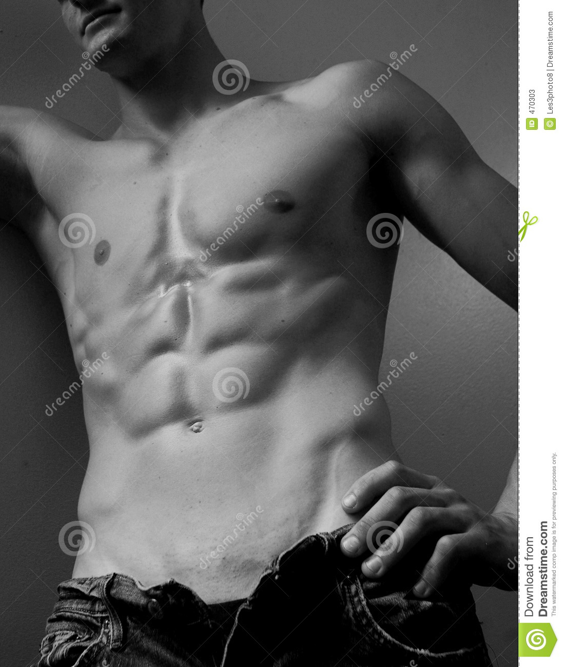 Download Male abs stock image. Image of buff, chap, strong, abdomen - 470303