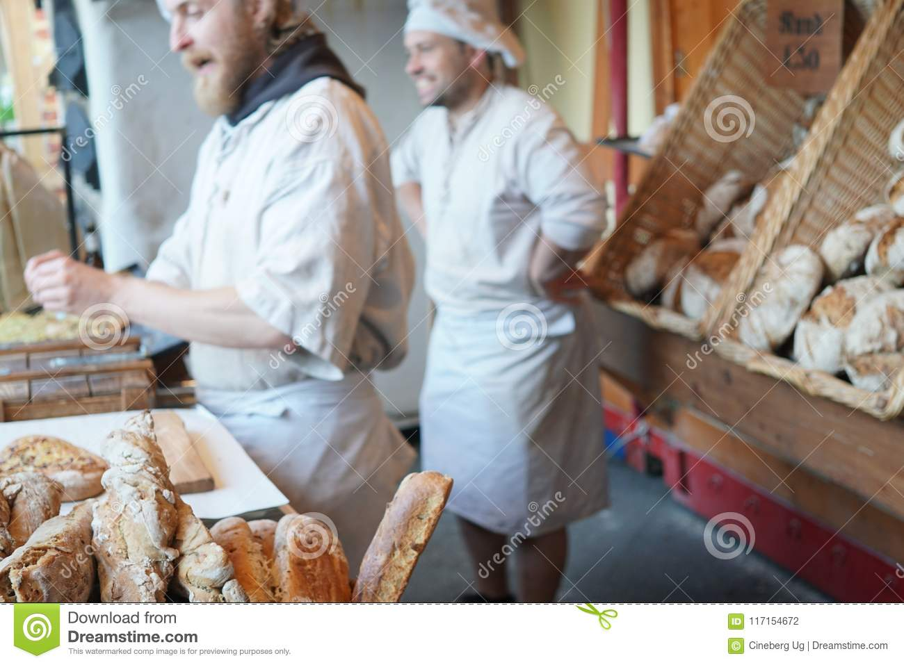 Male bakers