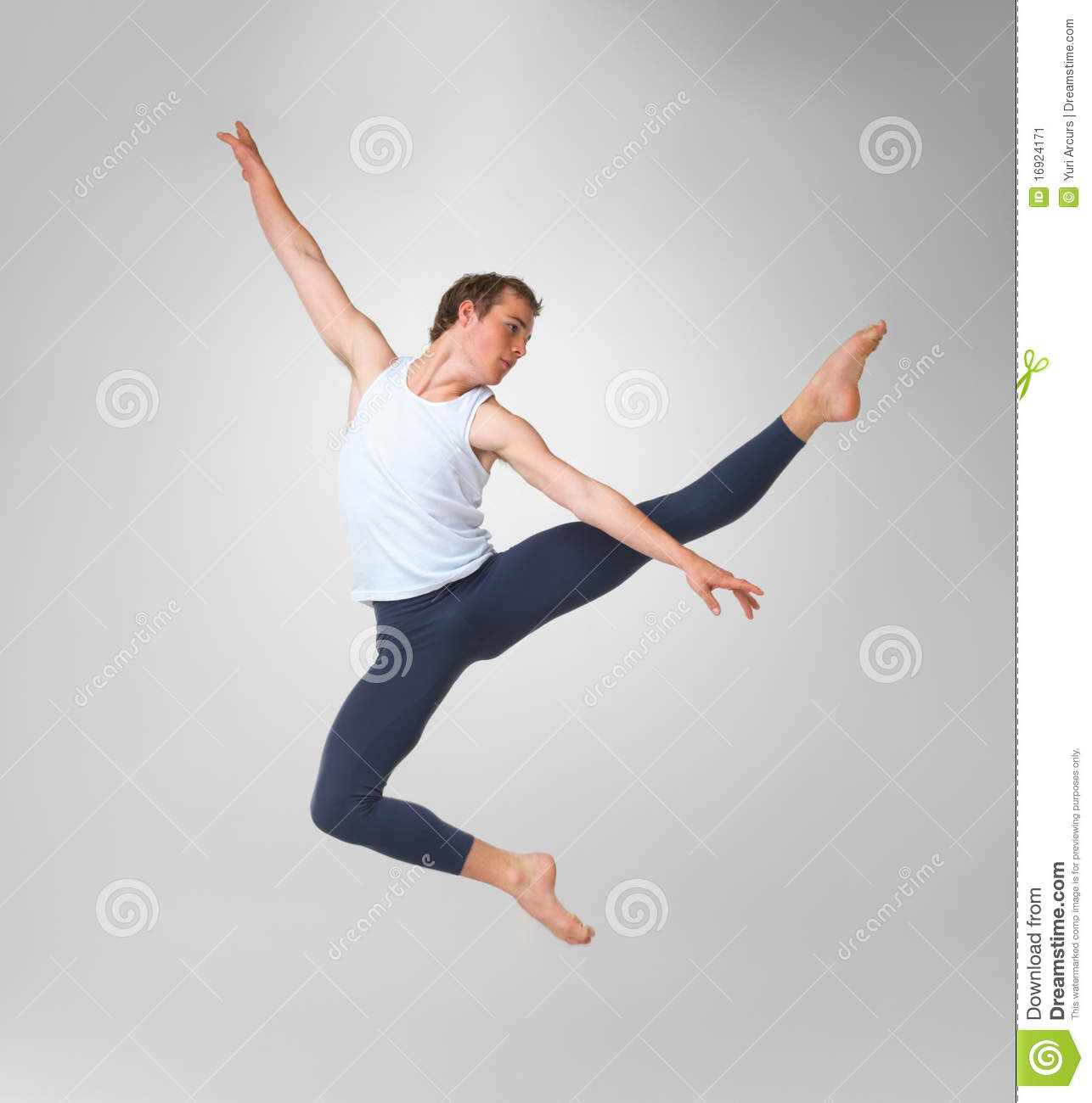 Male Ballet Dancer Performing Stock Image - Image Of Dancer, Fitness 16924171-4758