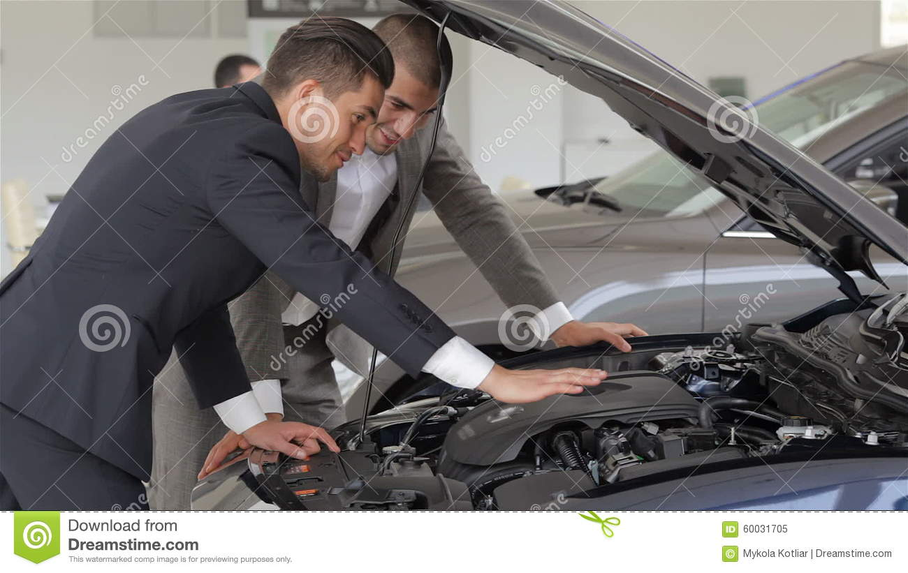 Happy Auto Sales >> Male With Car Dealer Stock Video Video Of Auto Caucasian