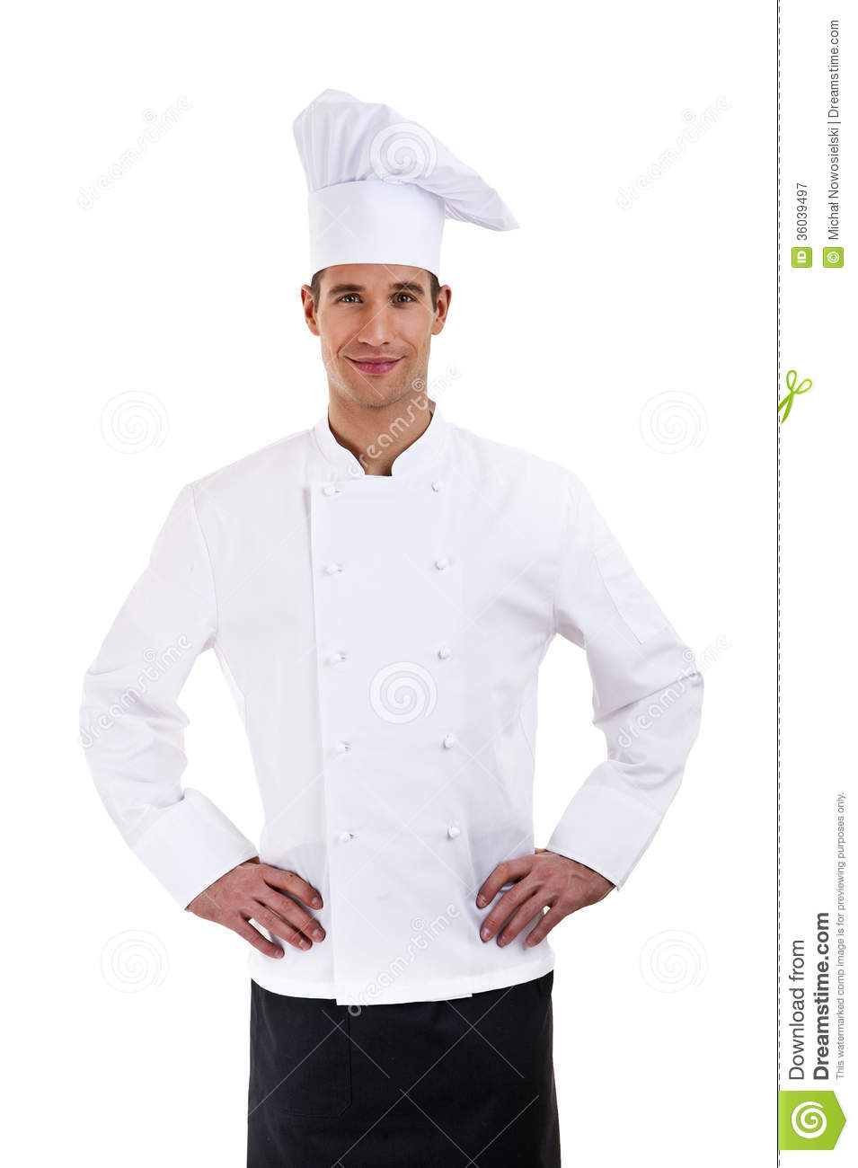 Male Chef Cook Royalty Free Stock Photography - Image: 36039497
