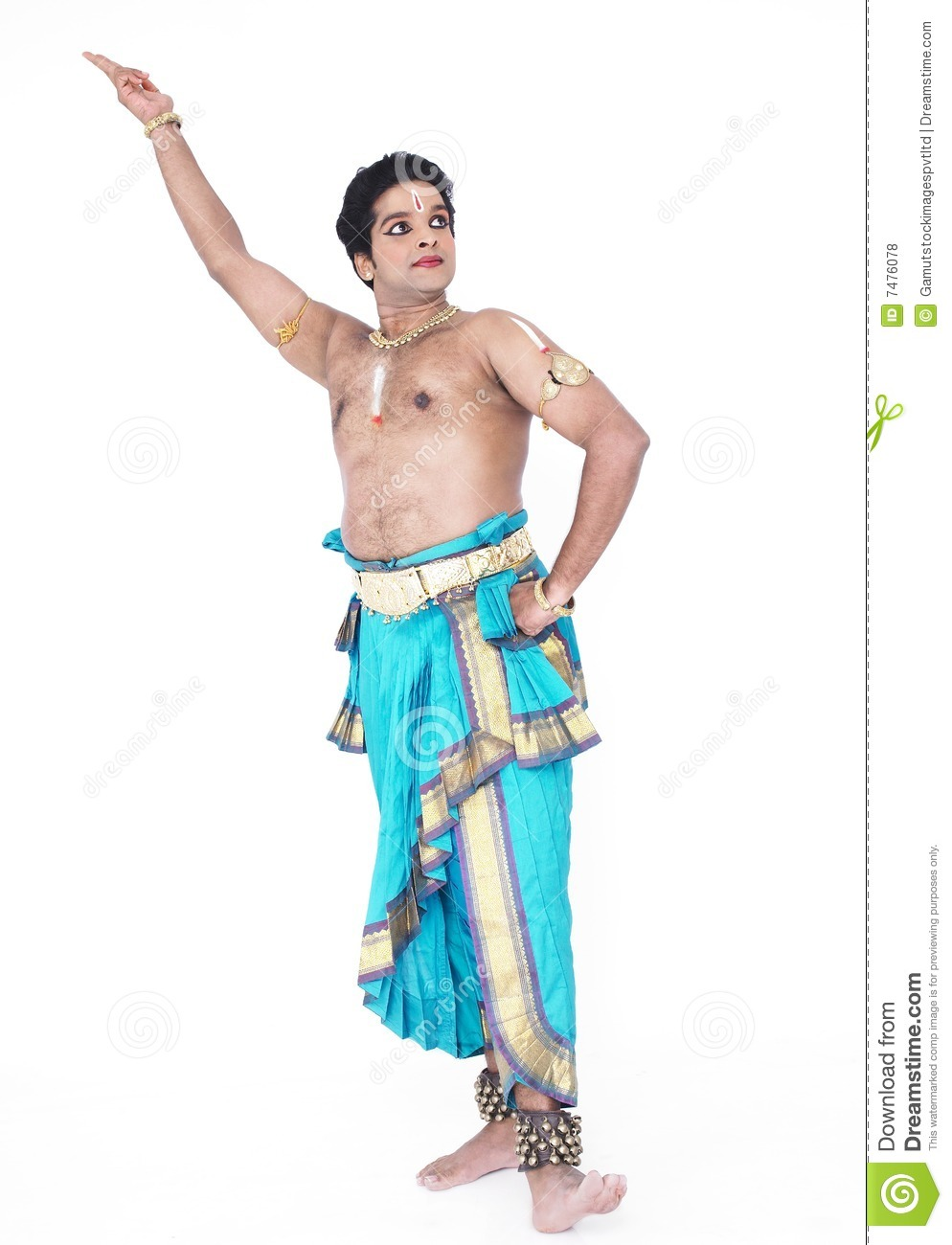 Male Classical Dancer From Asia Royalty Free Stock Photos - Image ...