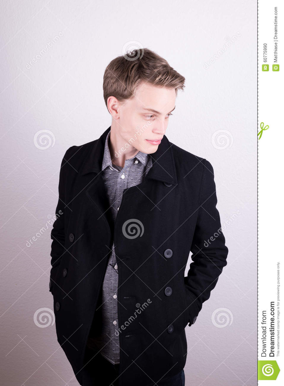 Male clothes model
