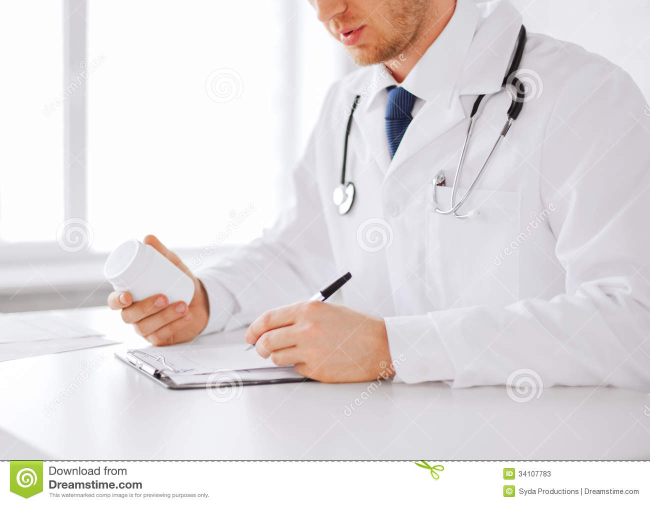 Online prescription writing service