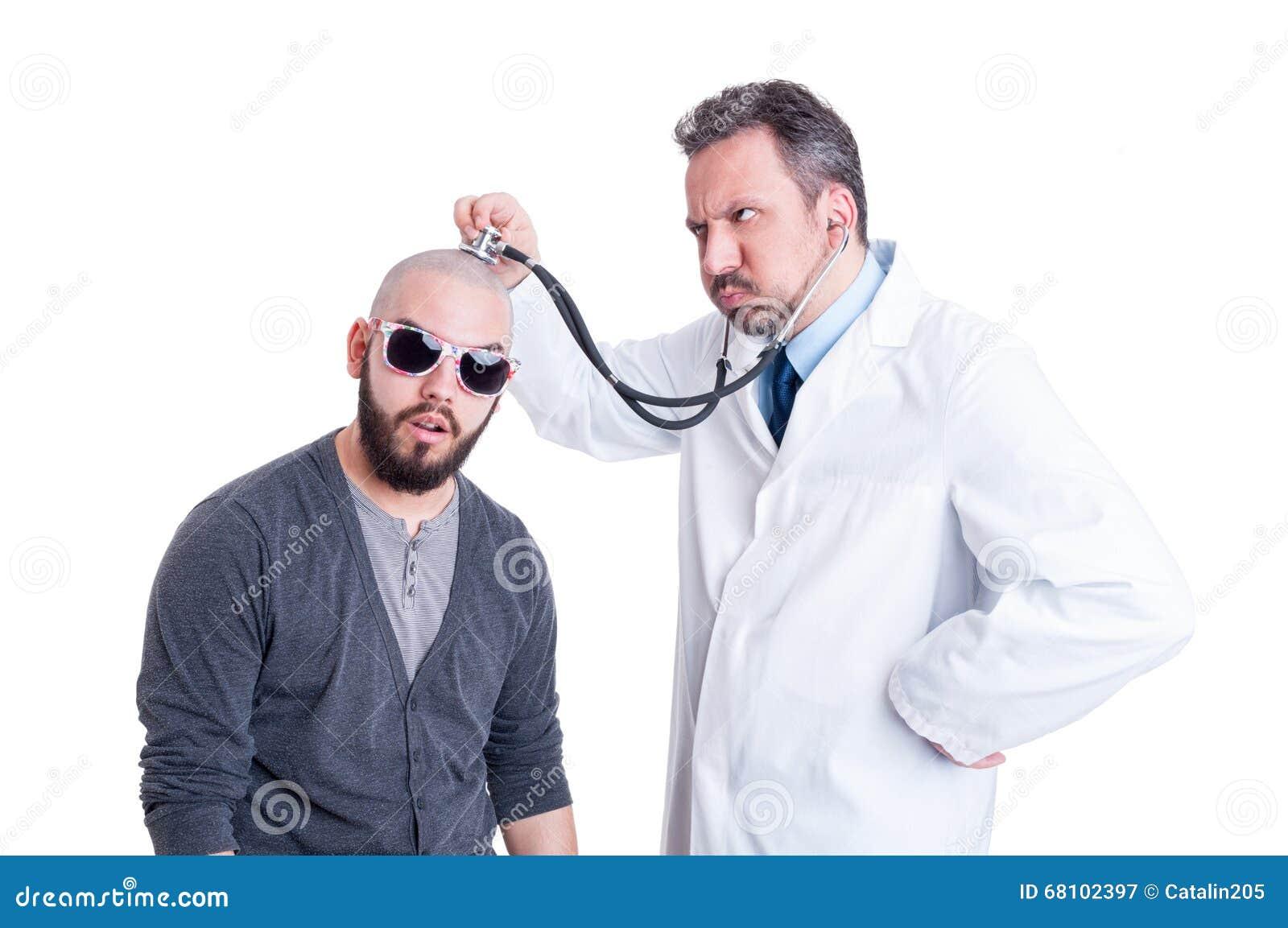 picture gay man receiving a facial