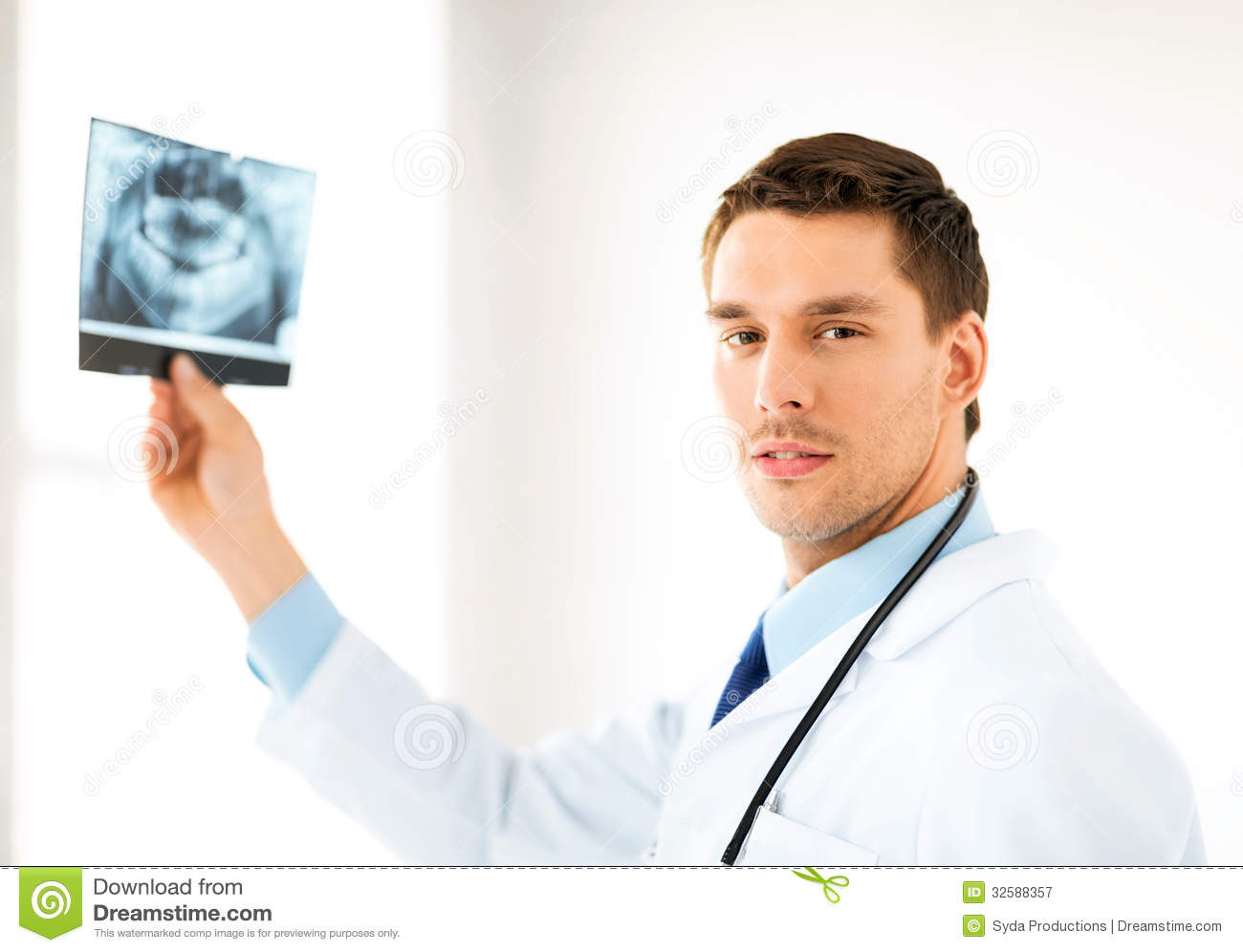 male doctor or dentist with x ray royalty free stock clipart sound animation and graphics clipart sound bytes