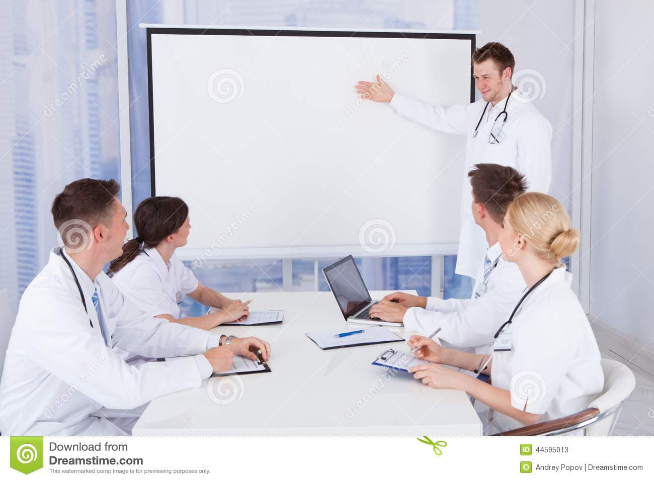 Doctors Conference Meeting Room