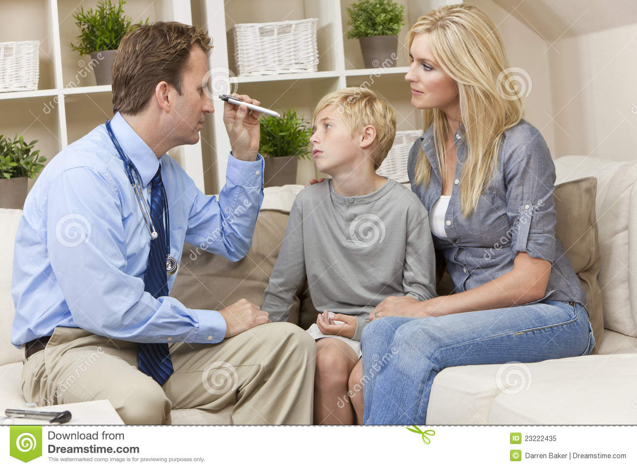 male doctor home visit examining child with mother royalty free stock photo image 23222435. Black Bedroom Furniture Sets. Home Design Ideas