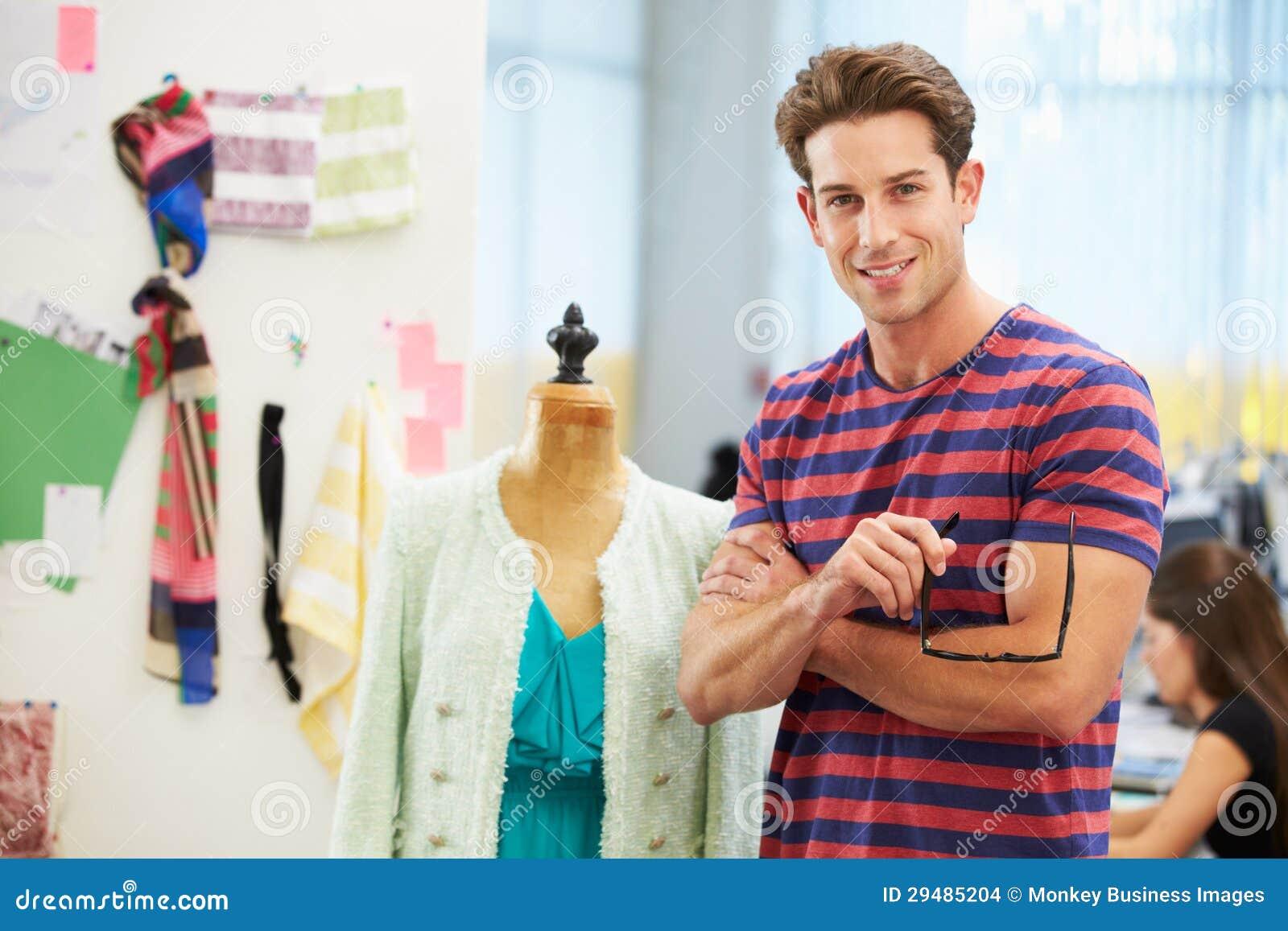 Male Fashion Designer In Studio Stock Images - Image: 29485204