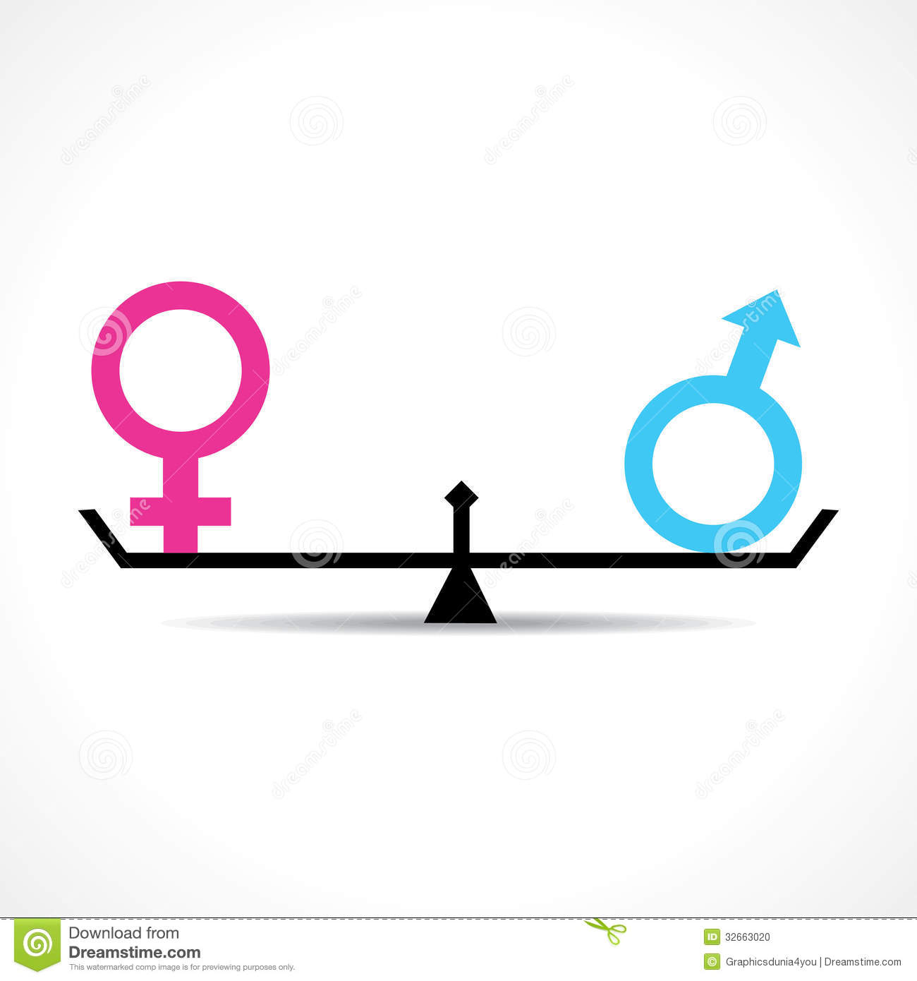 male and female equality concept stock photo image 32663020 lotus clip art images lotus clipart black and white