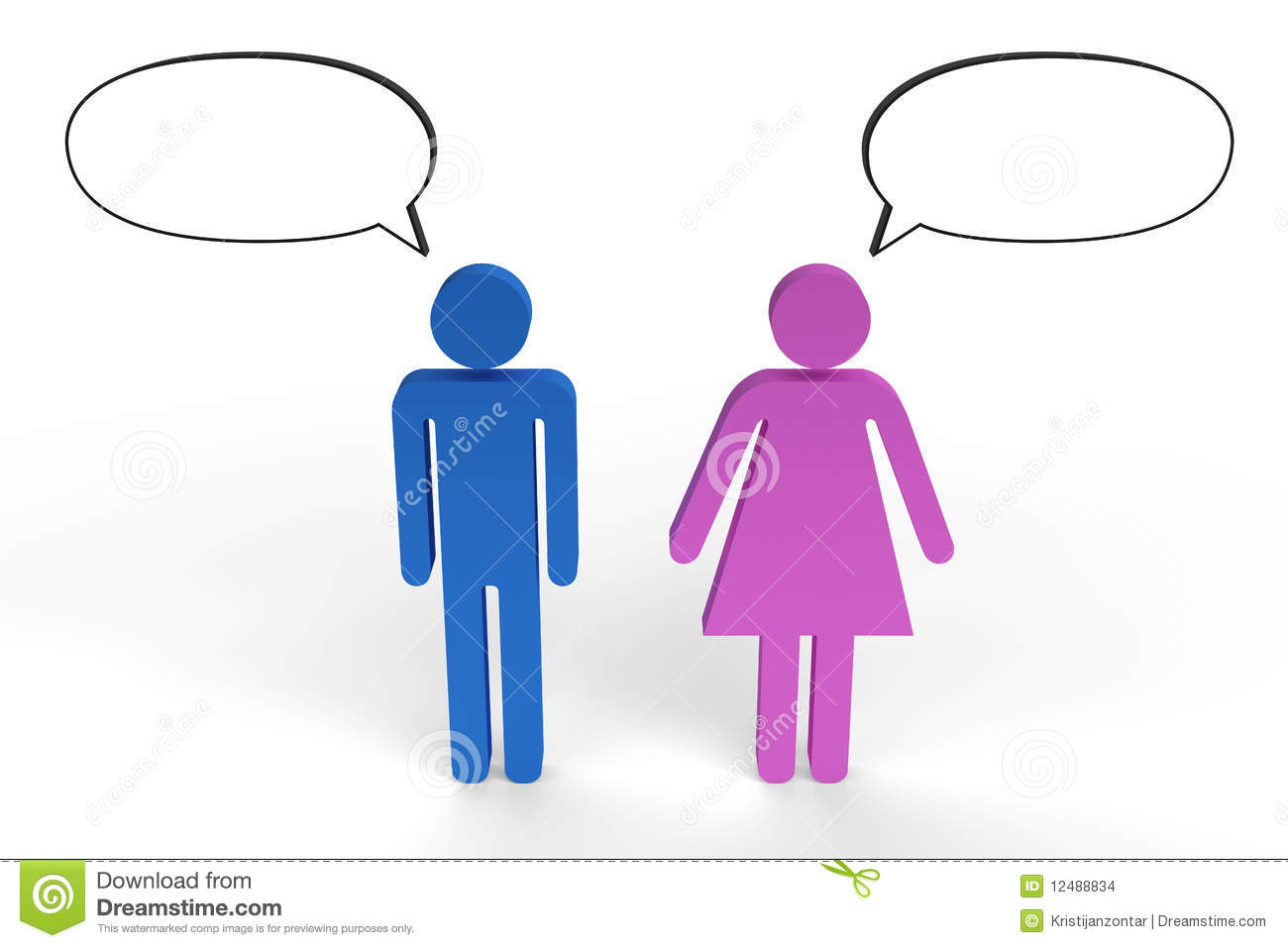 communication differences between male and female