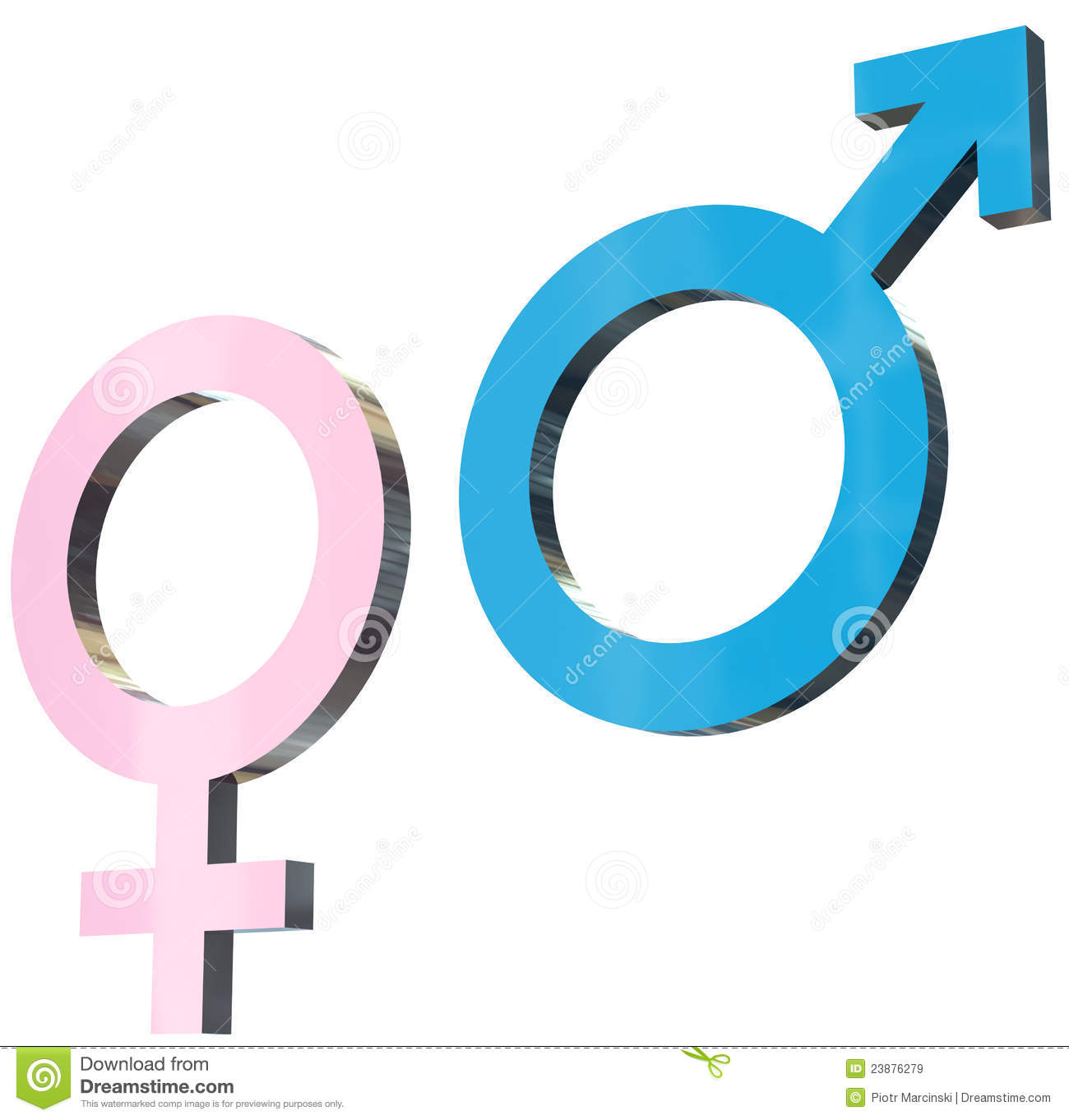Male And Female Signs Royalty Free Stock Images - Image: 23876279