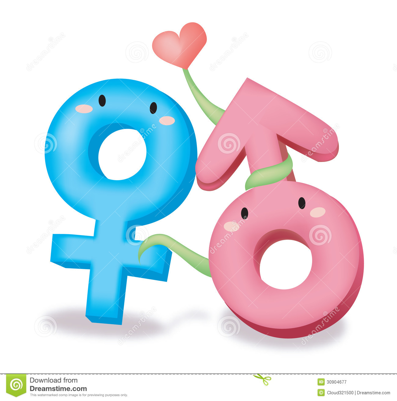 Male Female Symbol Royalty Free Stock Photography - Image: 30904677