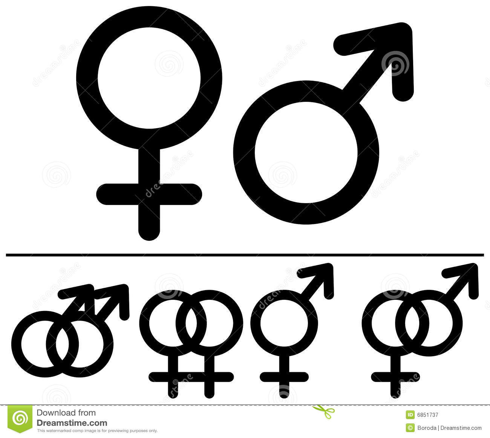 Male and female symbols stock vector illustration of group 6851737 male and female symbols buycottarizona